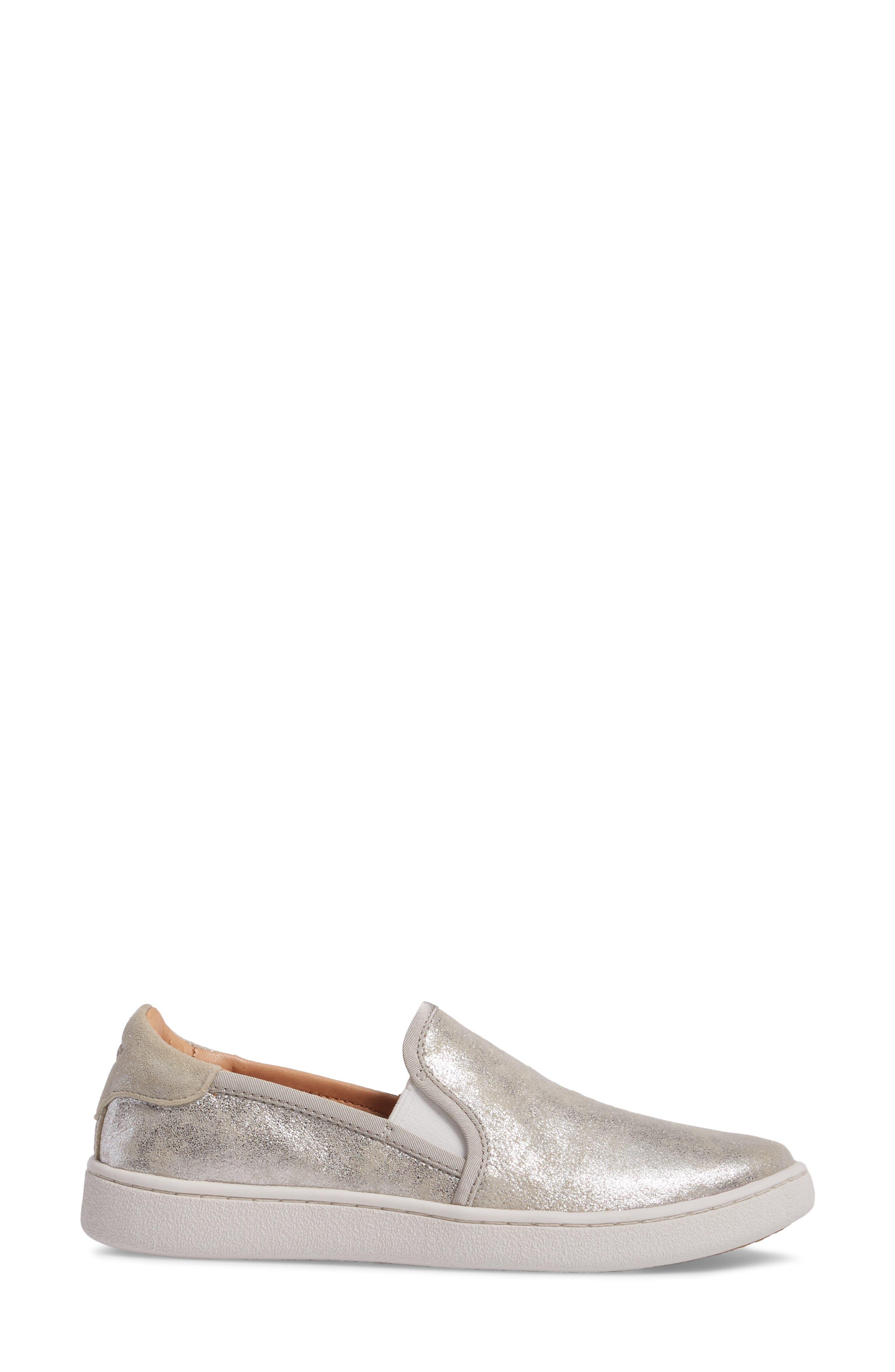 Cas Stardust Slip-On Sneaker,                             Alternate thumbnail 3, color,                             040