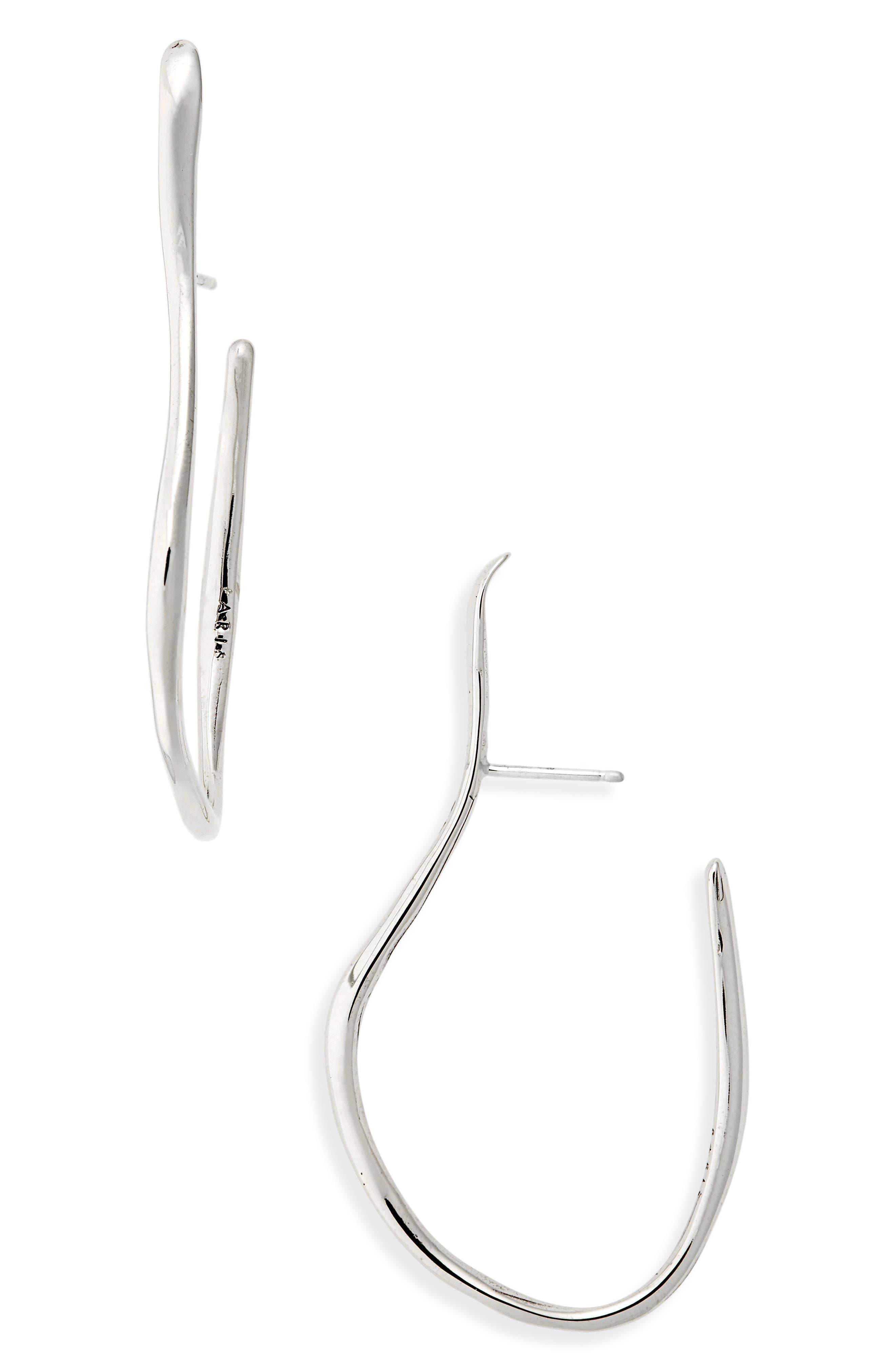 FARIS Vinea Hook Earrings in Sterling Silver