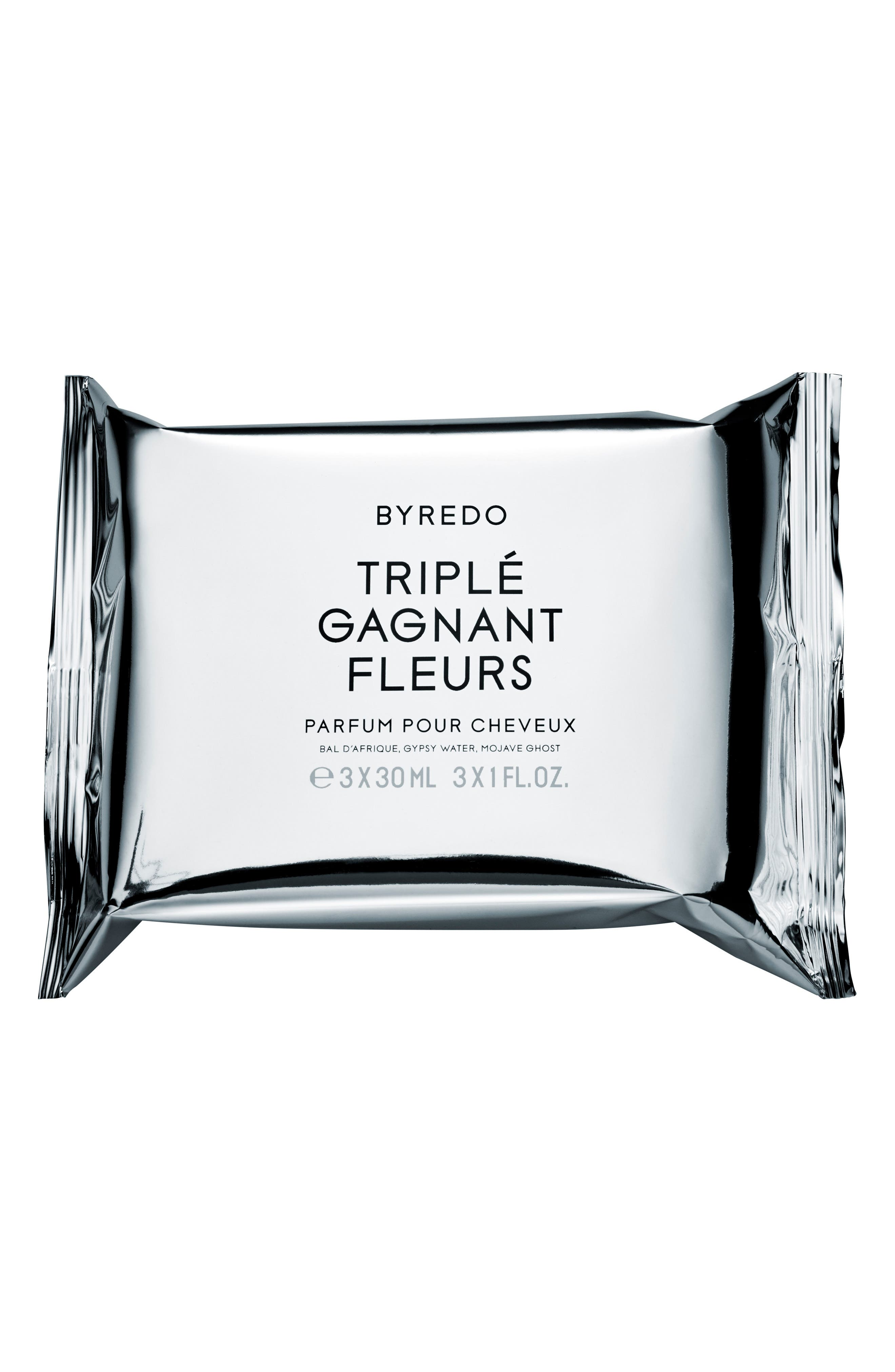 Triplé Gagnat Fleurs Miniature Hair Perfume Trio,                             Alternate thumbnail 2, color,                             NO COLOR