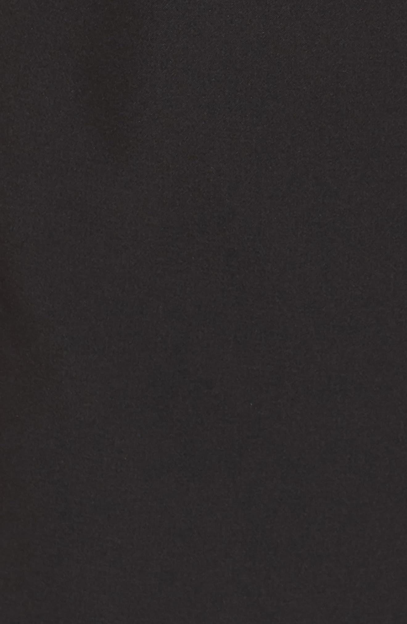 Josephine Wide Leg Crop Lace Jumpsuit,                             Alternate thumbnail 6, color,                             BLACK