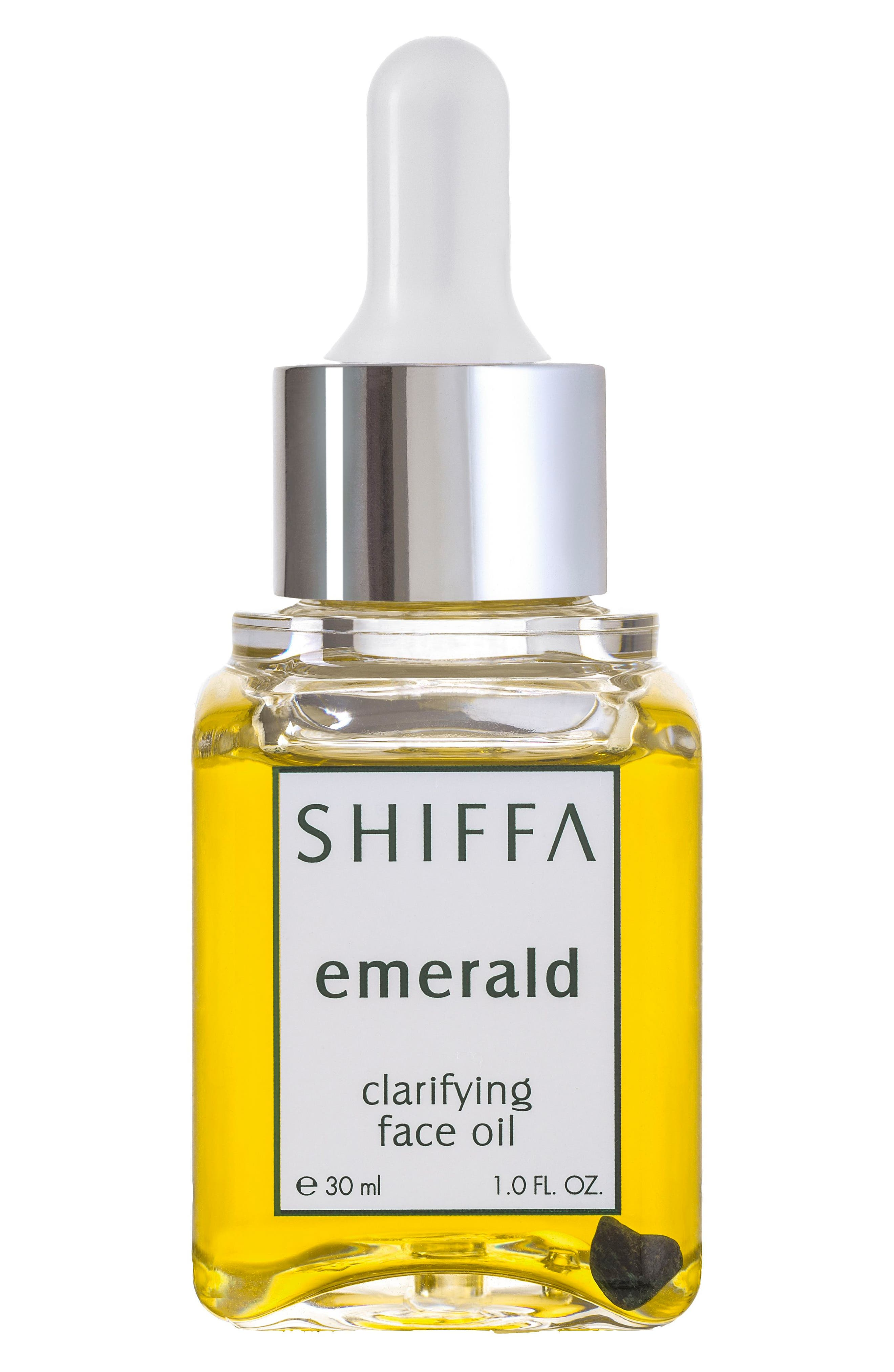 Emerald Clarifying Face Oil,                             Main thumbnail 1, color,                             NO COLOR