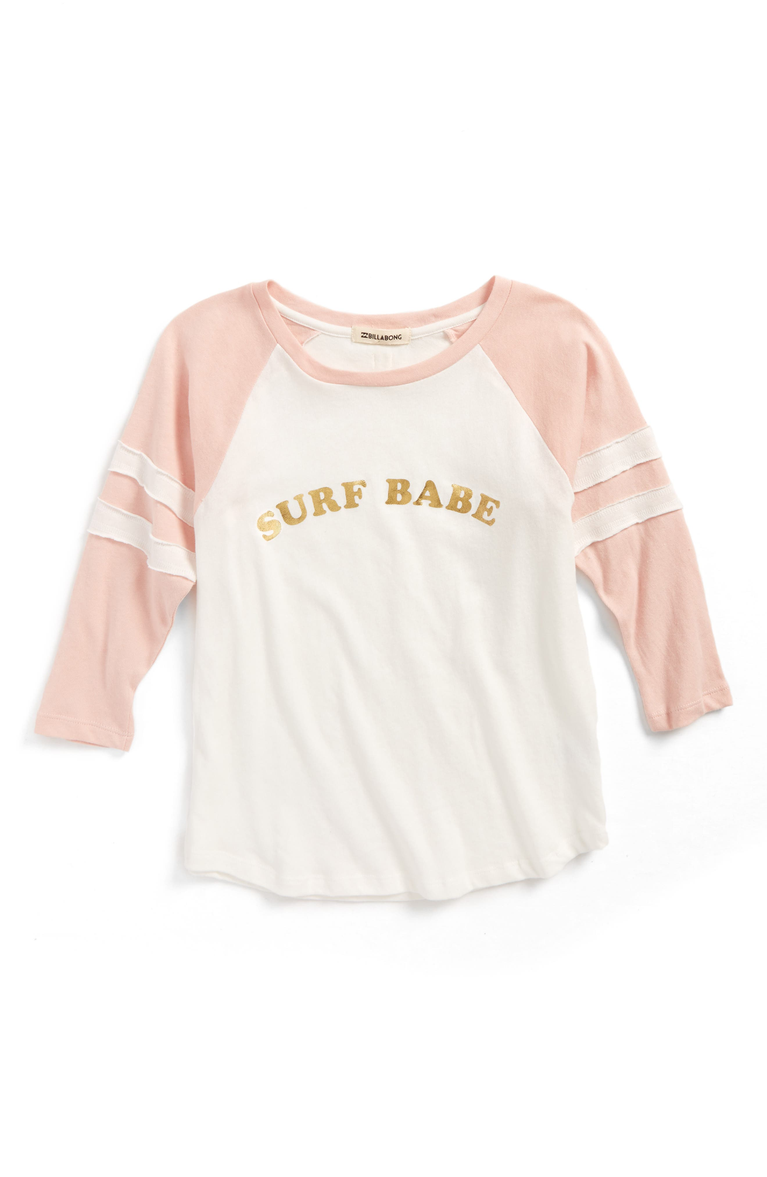 Surf Babe Graphic Tee,                             Alternate thumbnail 2, color,