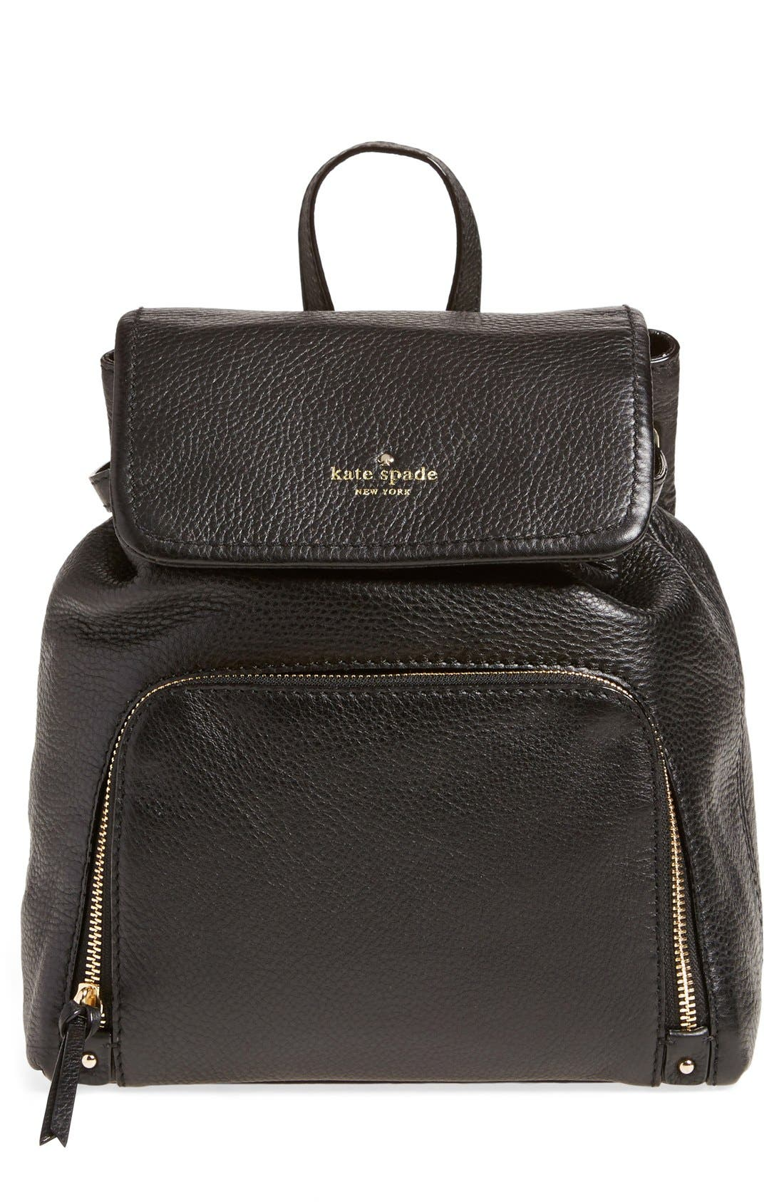 'cobble hill - charley' backpack, Main, color, 001