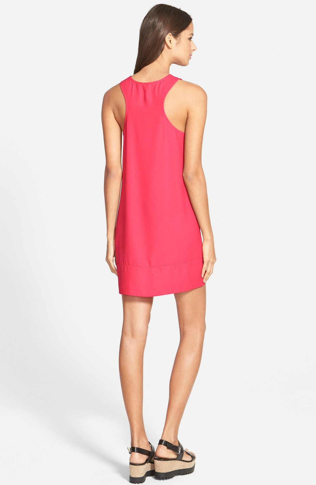 Racerback Shift Dress,                             Alternate thumbnail 116, color,