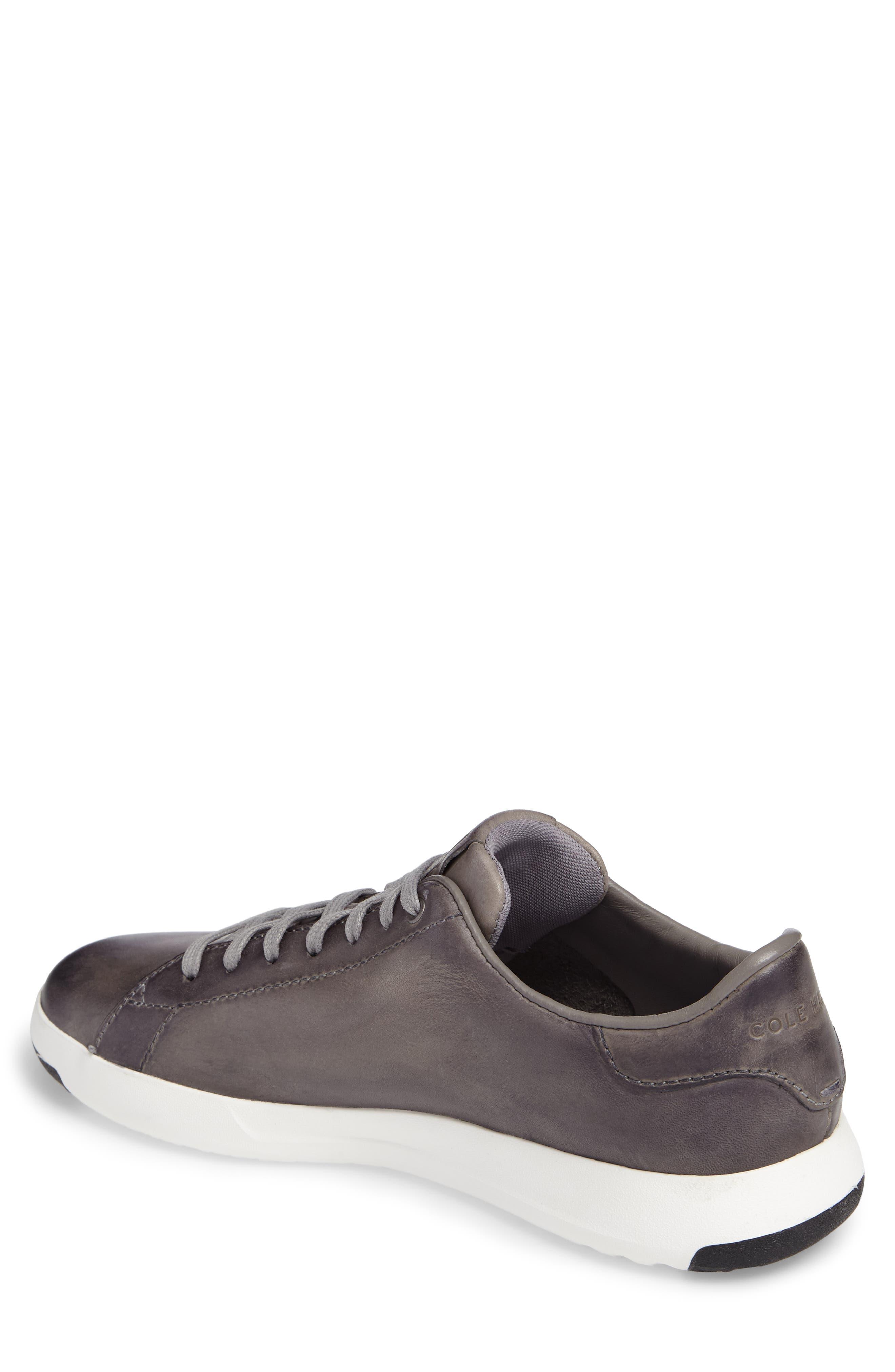 GrandPro Tennis Sneaker,                             Alternate thumbnail 2, color,                             IRONSTONE GRAY HANDSTAIN