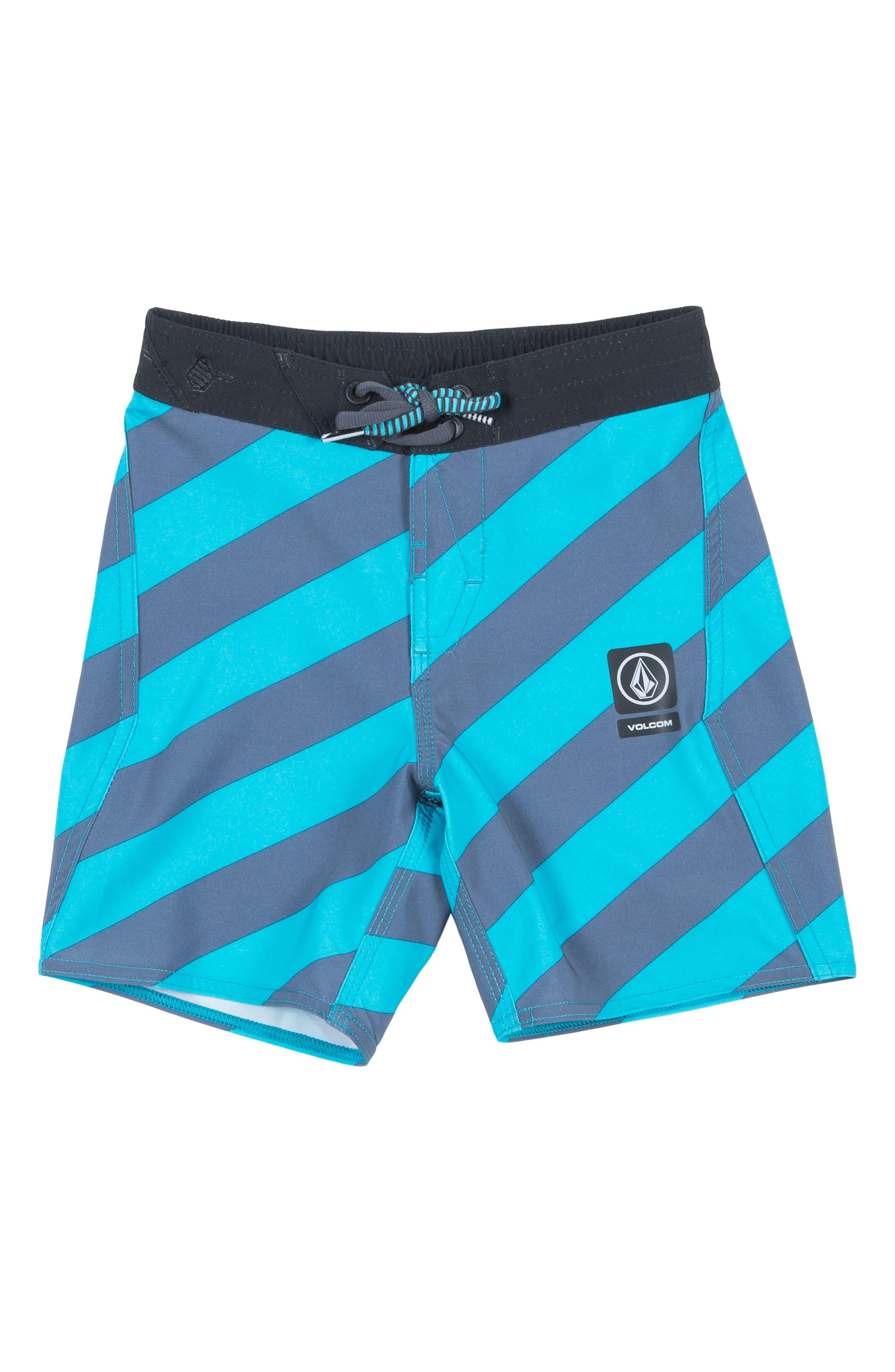 Stripey Jammer Board Shorts,                             Alternate thumbnail 12, color,