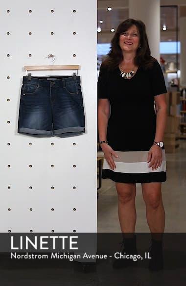 Ab-solution Cuffed Denim Shorts, sales video thumbnail