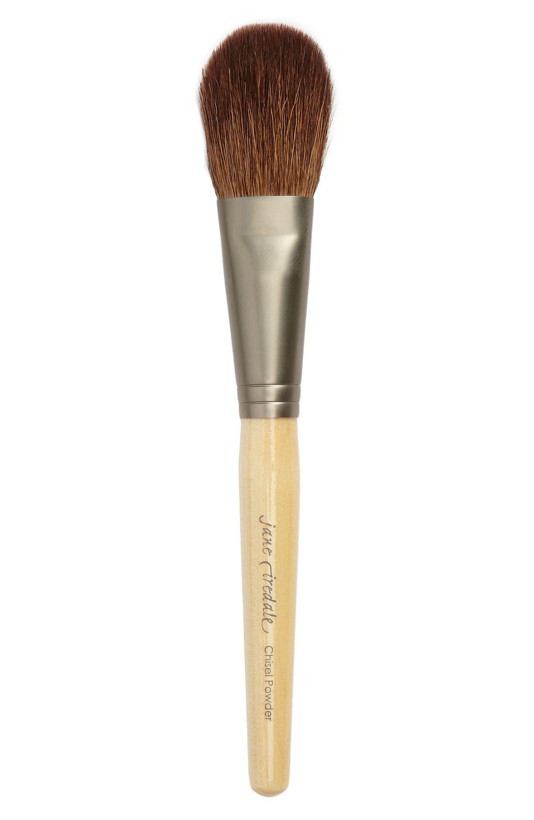 Chisel Powder Brush,                             Main thumbnail 1, color,
