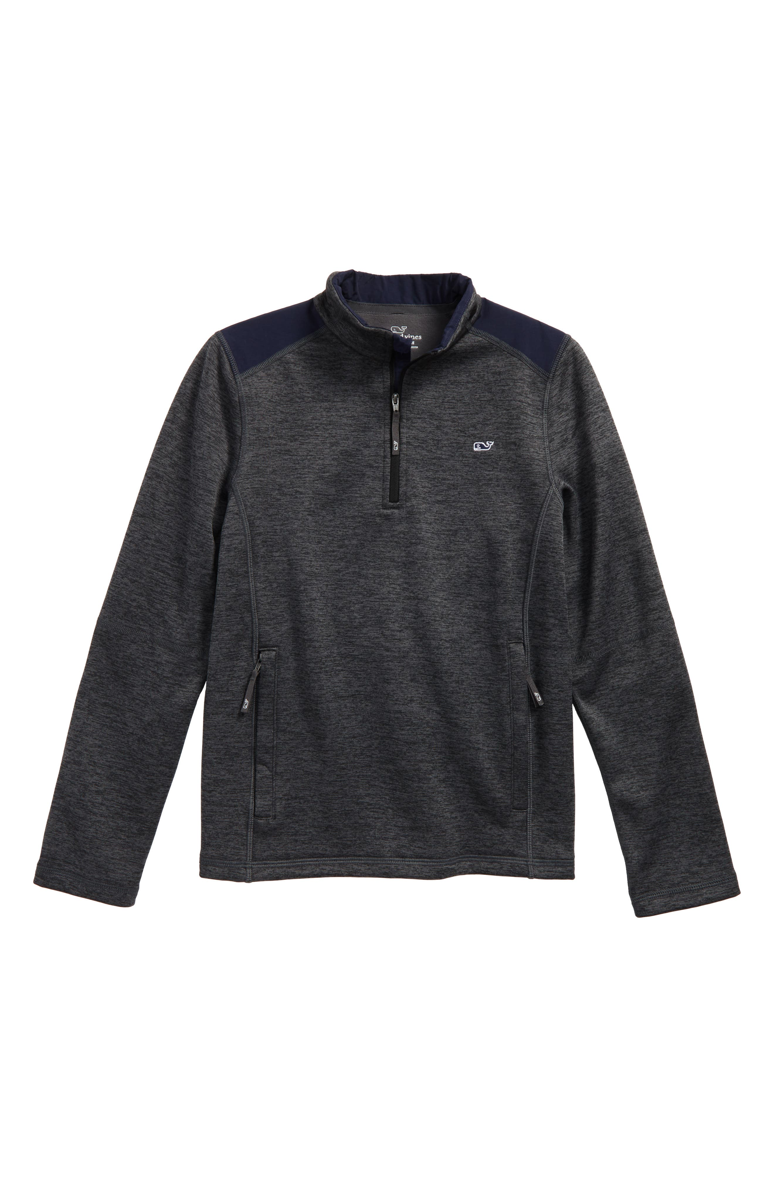 Performance Quarter Zip Pullover,                             Main thumbnail 1, color,                             056
