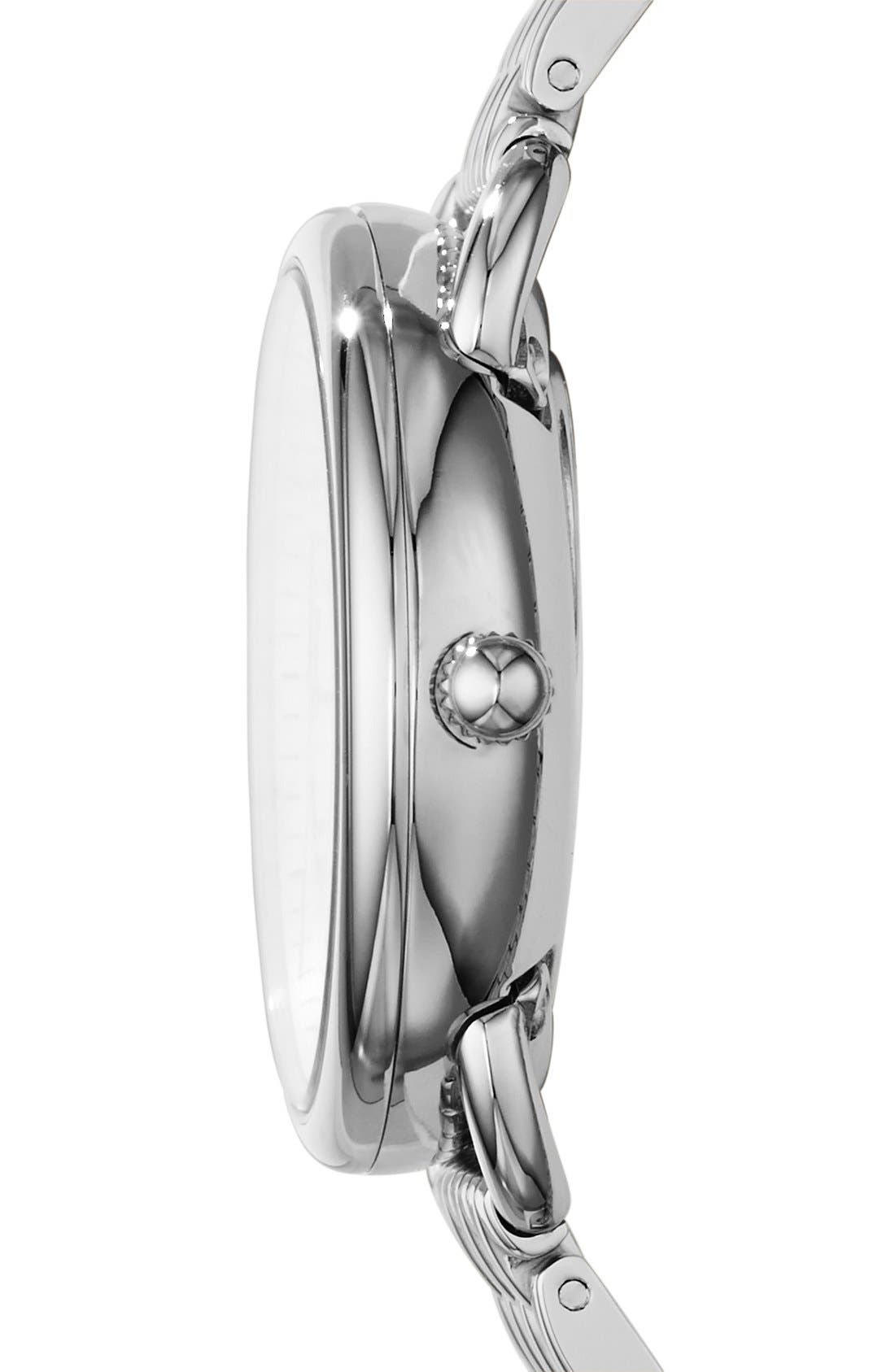 'Tailor' Multifunction Bracelet Watch, 16mm,                             Alternate thumbnail 2, color,                             SILVER