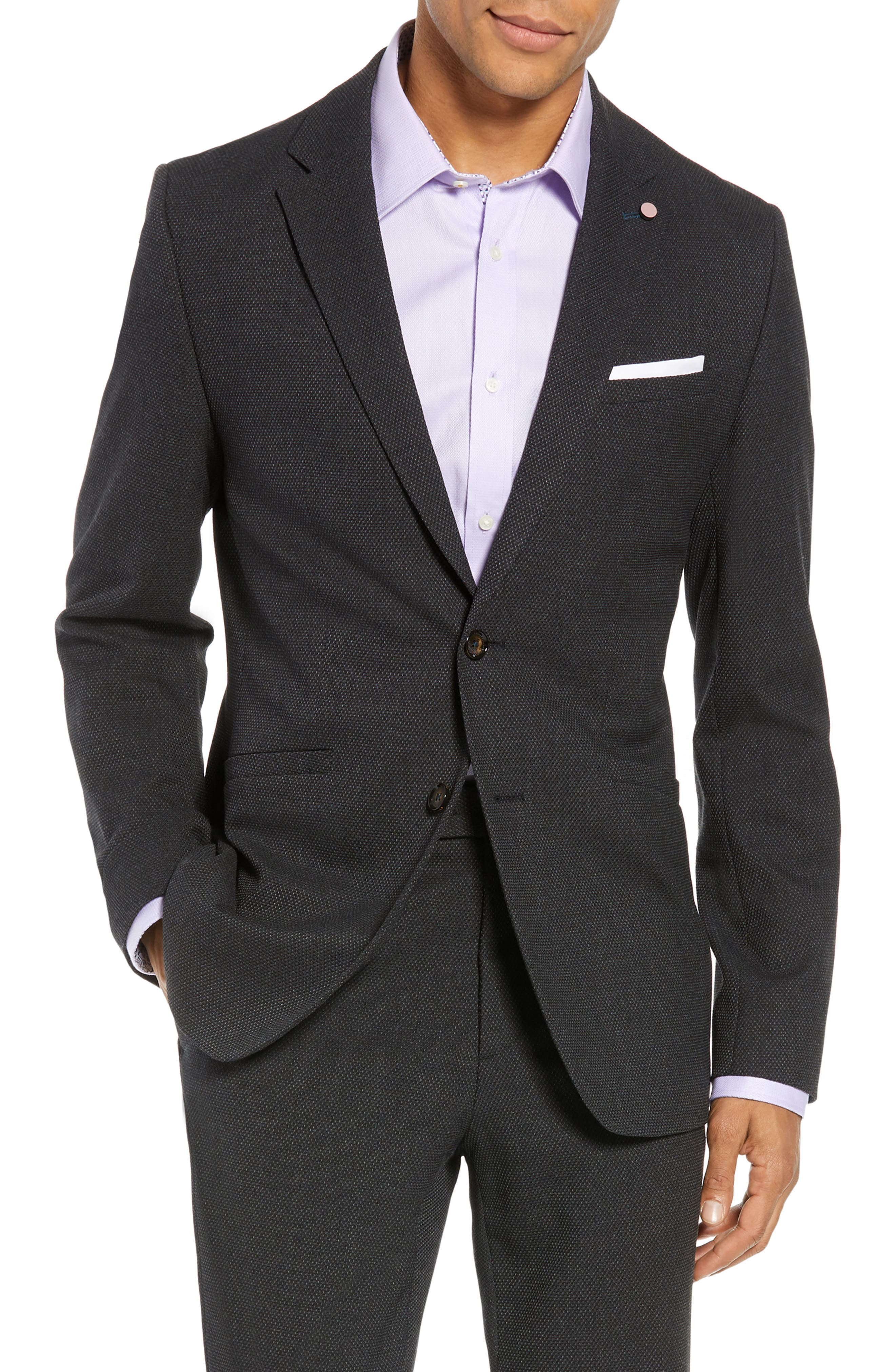 Gorka Slim Fit Suit Jacket,                         Main,                         color, CHARCOAL