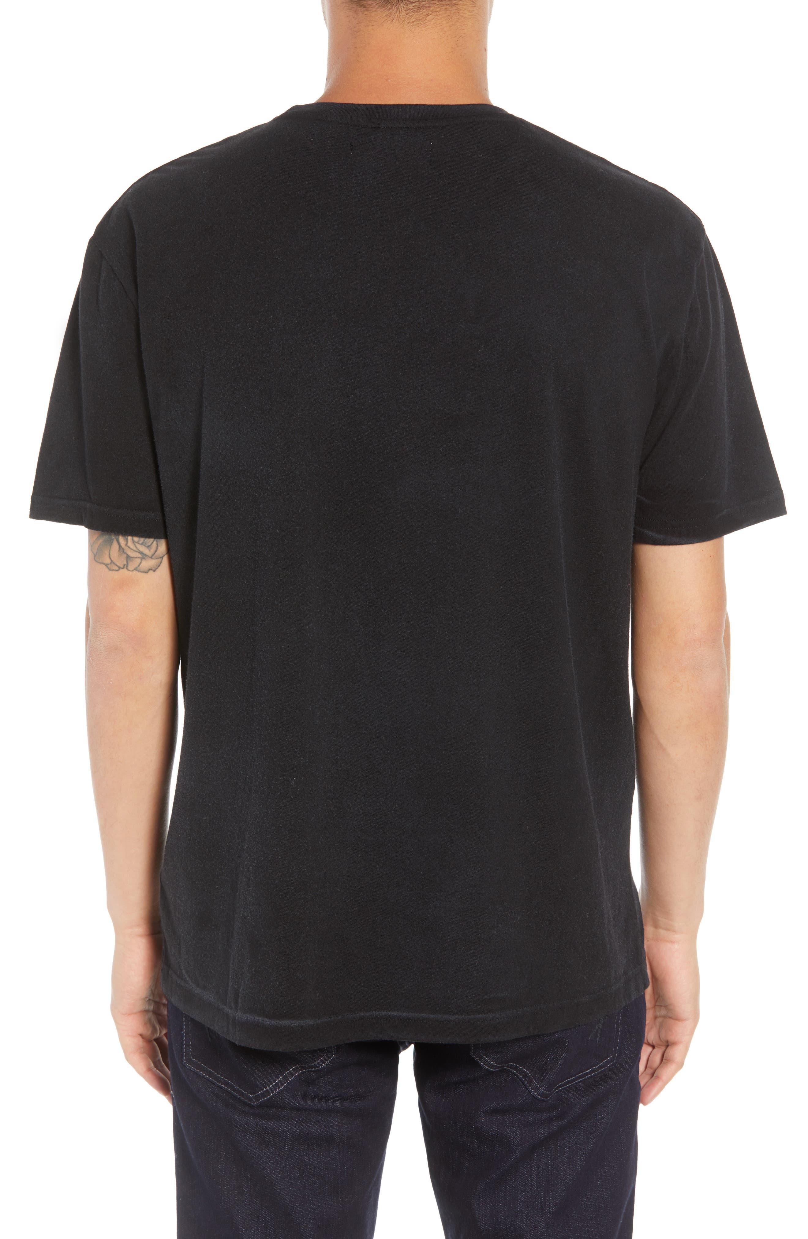 We're Back Graphic T-Shirt,                             Alternate thumbnail 2, color,                             BLACK