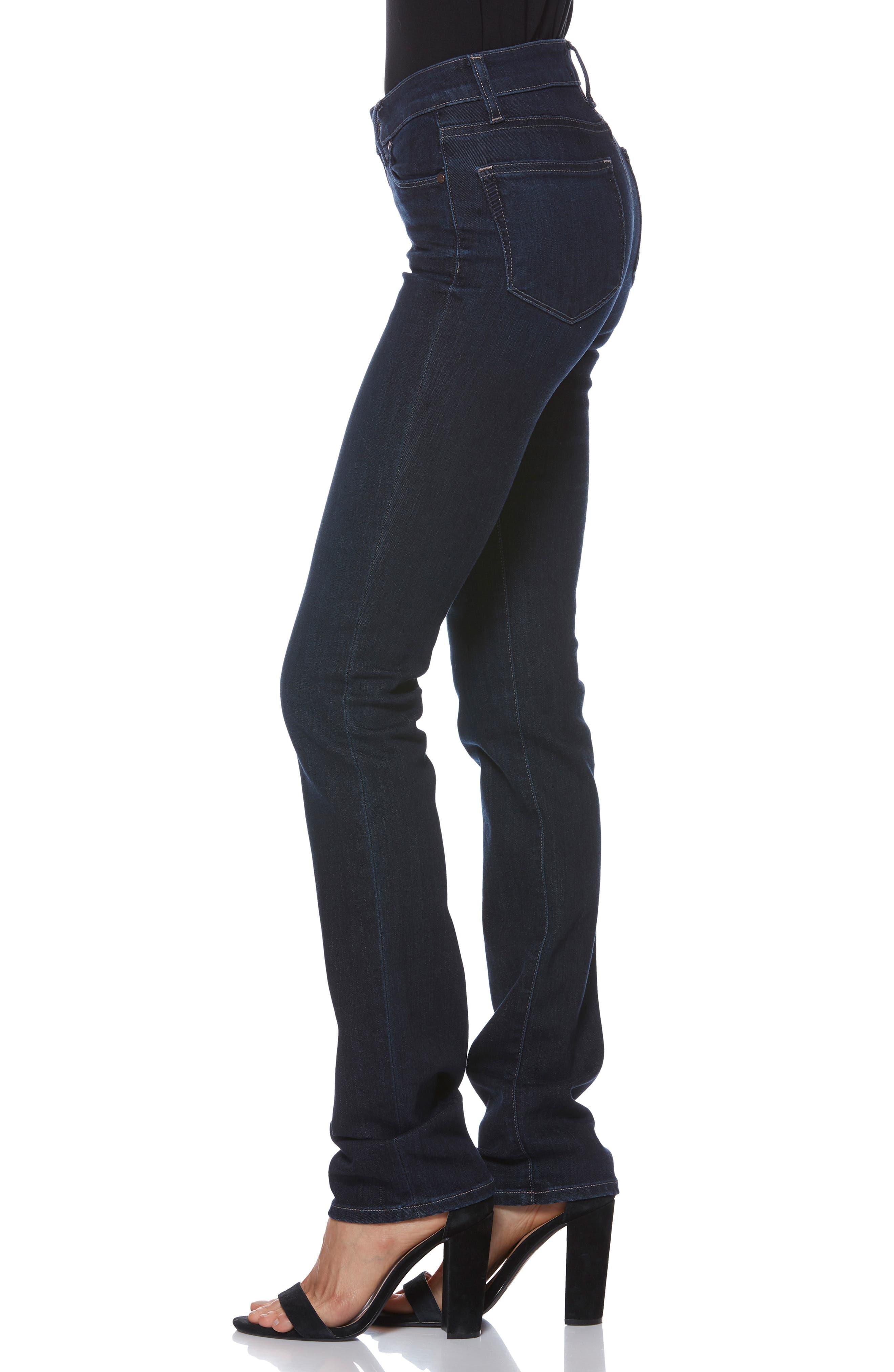 Skyline Straight Leg Jeans,                             Alternate thumbnail 3, color,                             DALY