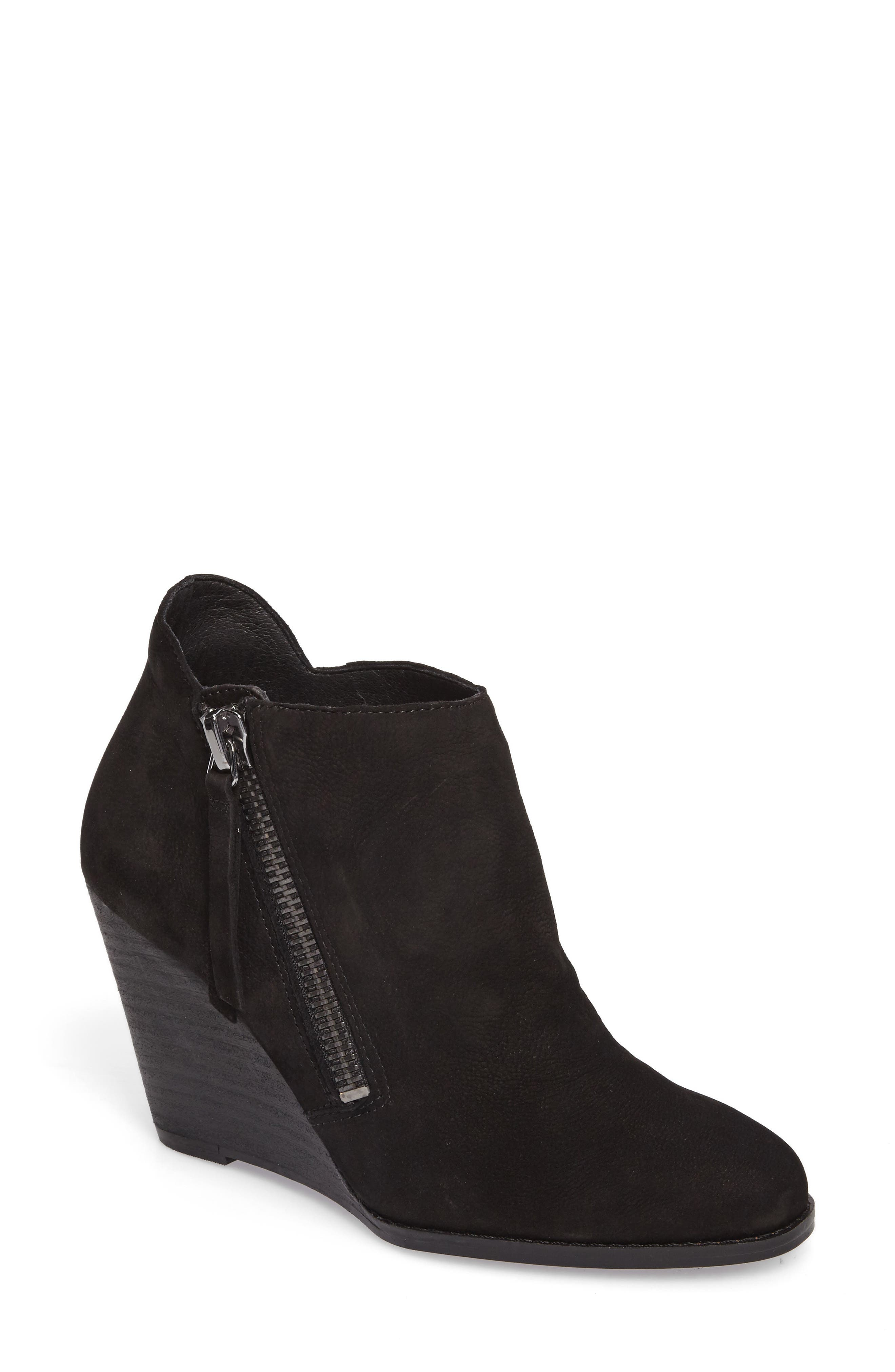Carnivela Wedge Bootie,                             Main thumbnail 1, color,                             001