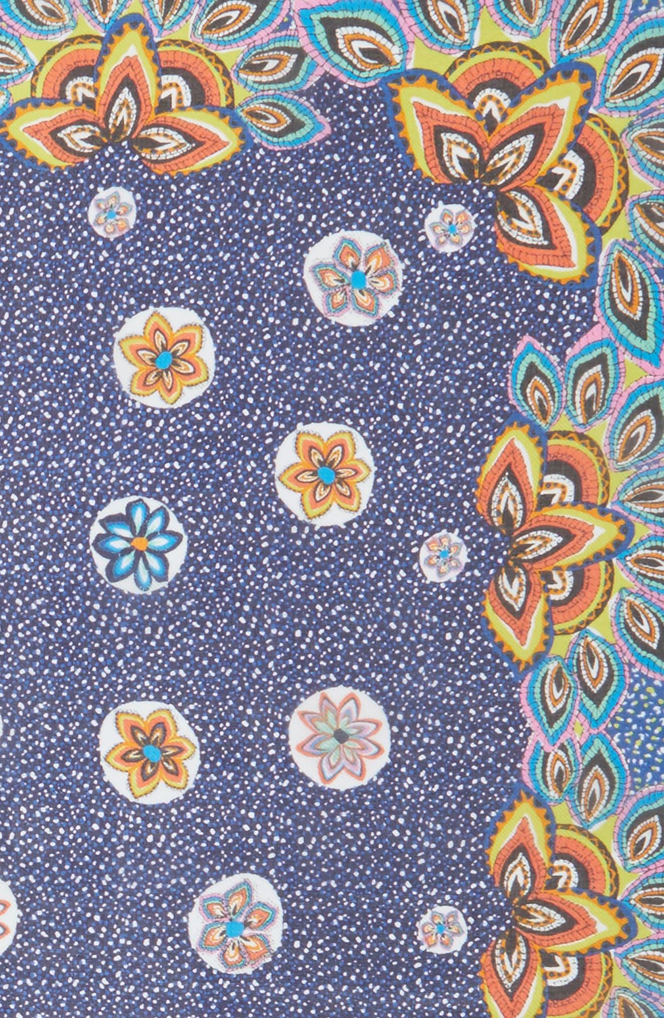 San Lazaro Silk Scarf,                             Alternate thumbnail 14, color,