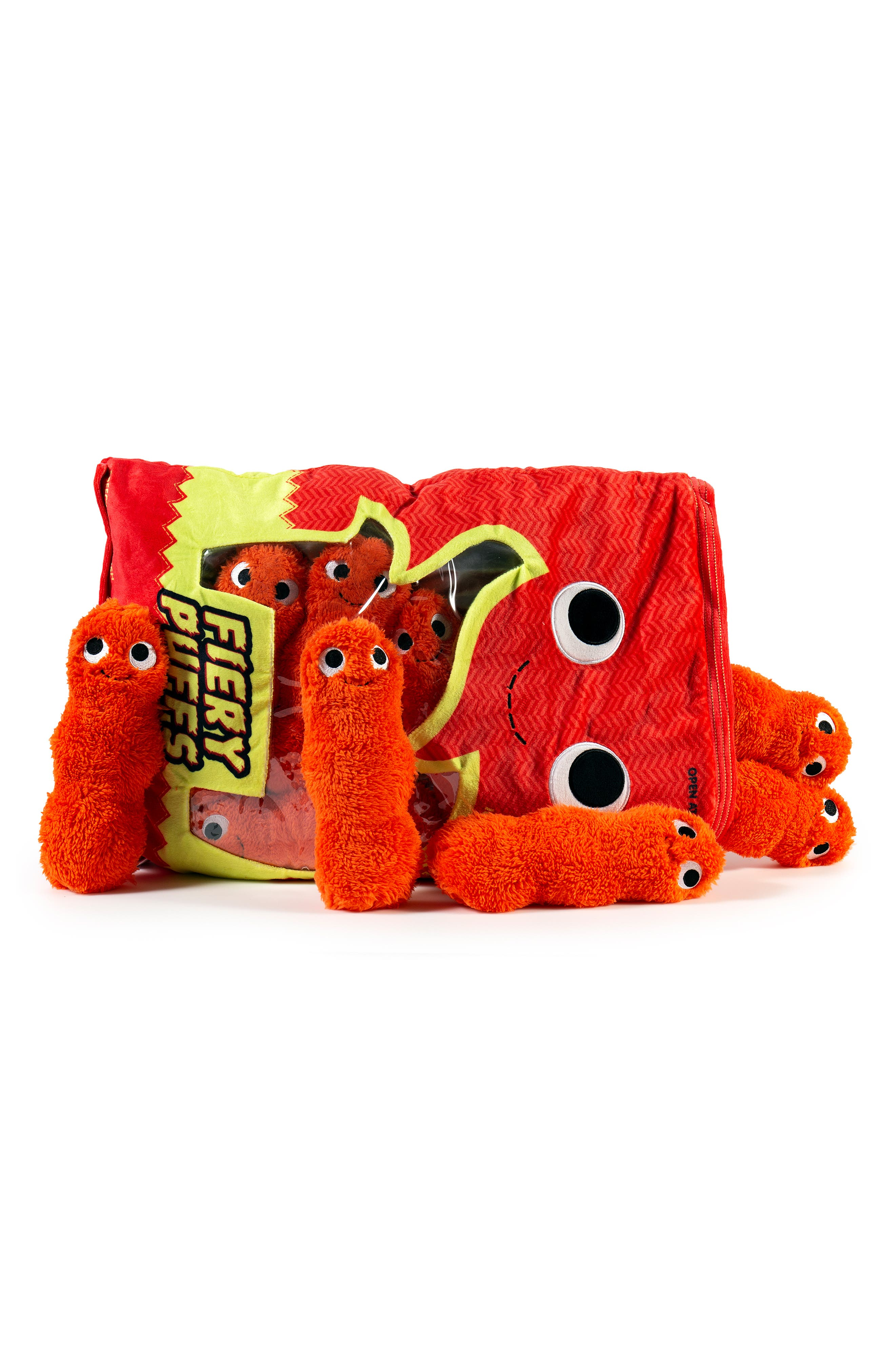 Yummy World Extra Large Frye & The Fiery Puffs Plush Toy,                             Alternate thumbnail 4, color,                             960
