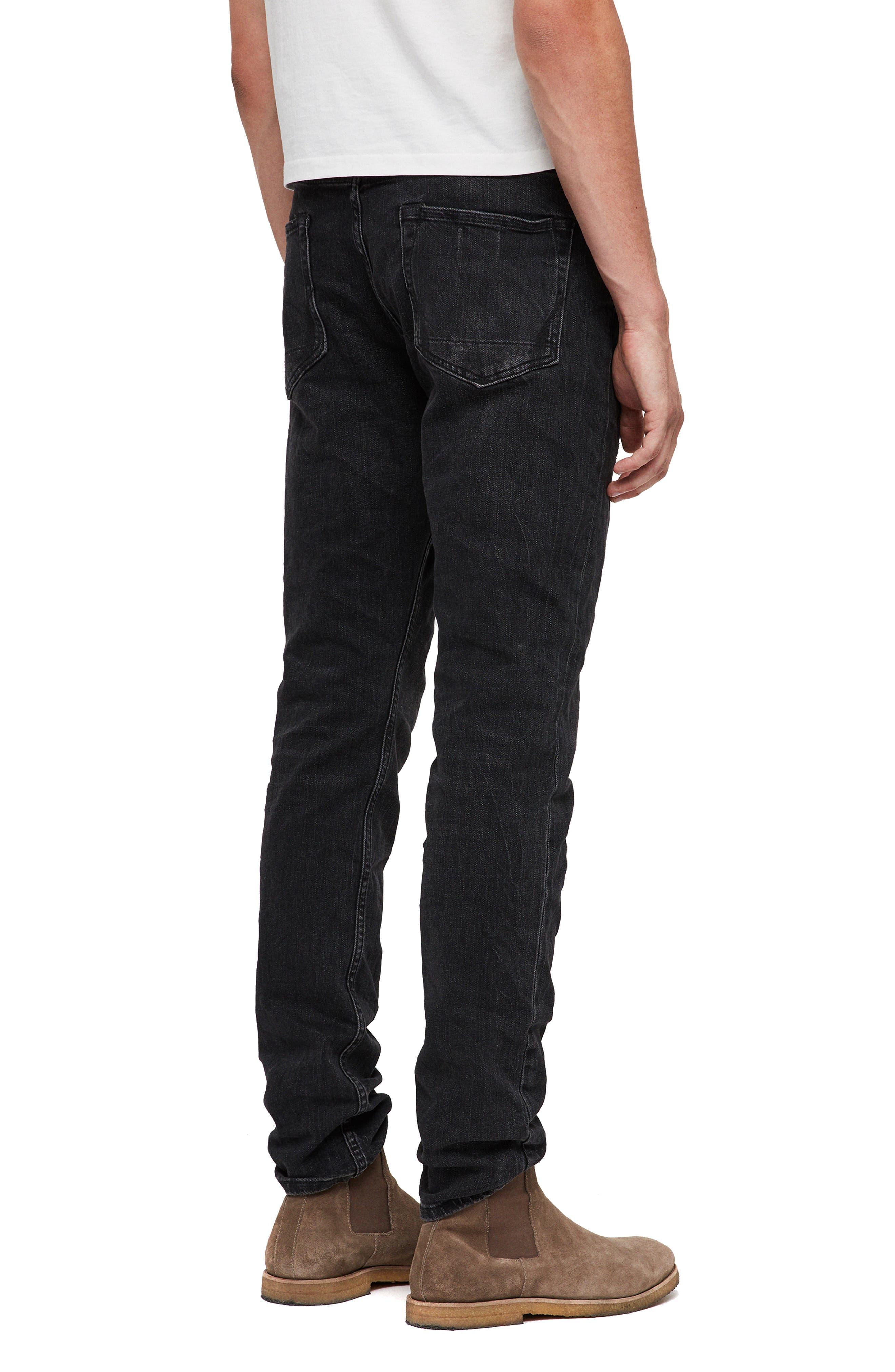 Rex Slim Fit Straight Leg Jeans,                             Alternate thumbnail 5, color,                             005