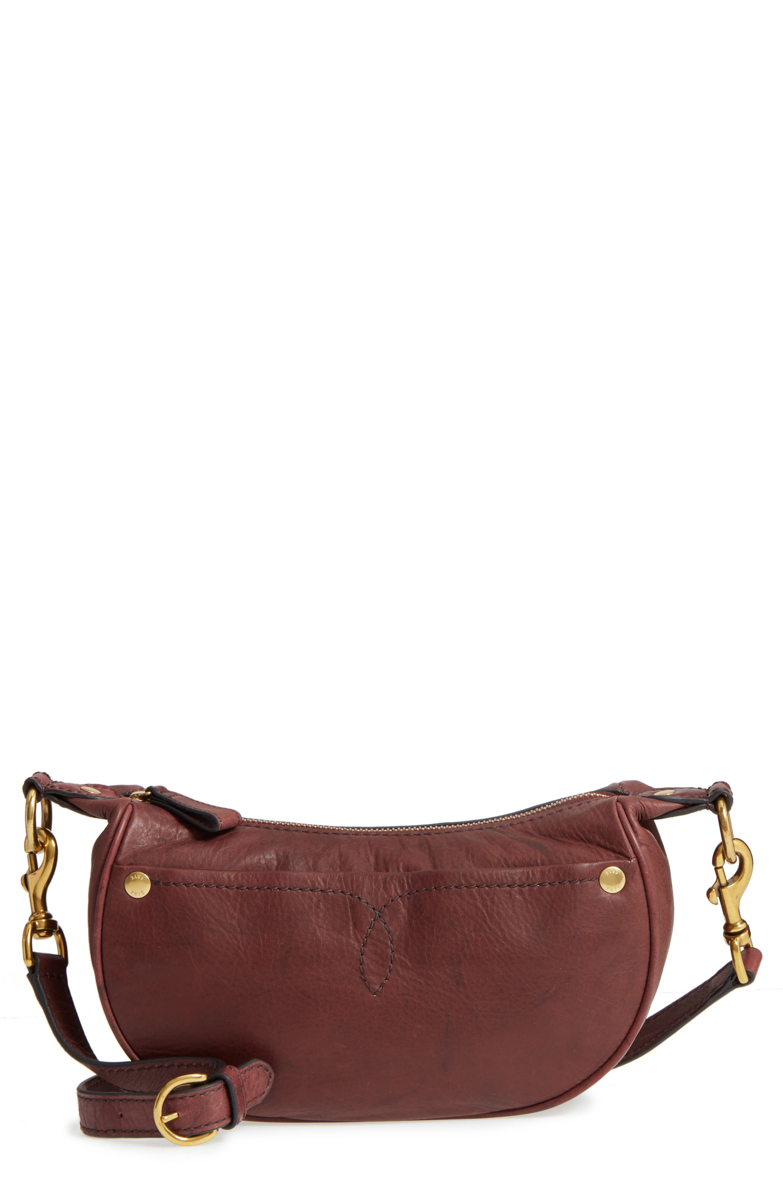 Small Campus Leather Crossbody Bag,                         Main,                         color, 210
