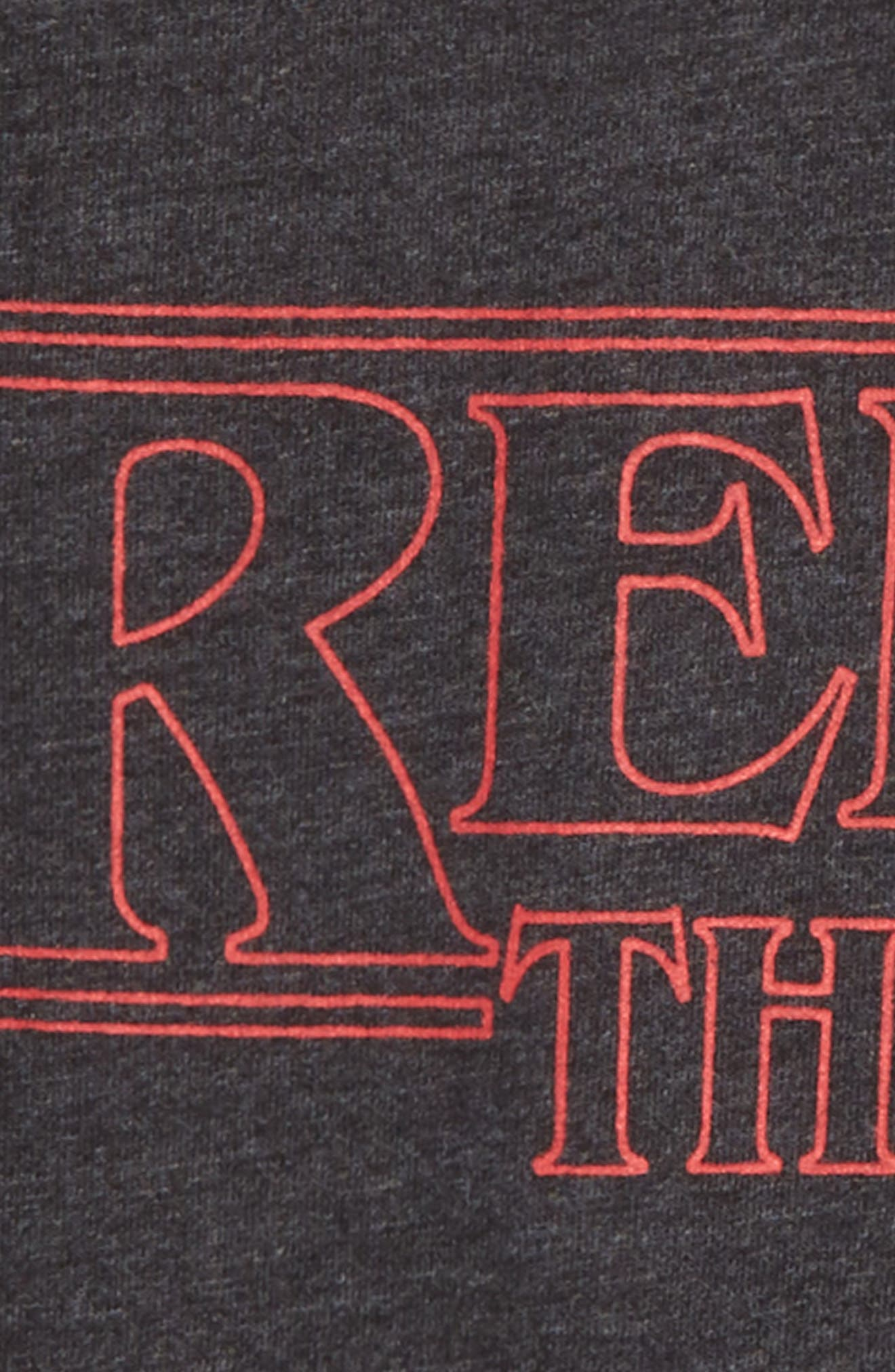 Rebel Things Graphic T-Shirt,                             Alternate thumbnail 2, color,                             CHARCOAL HEATHER