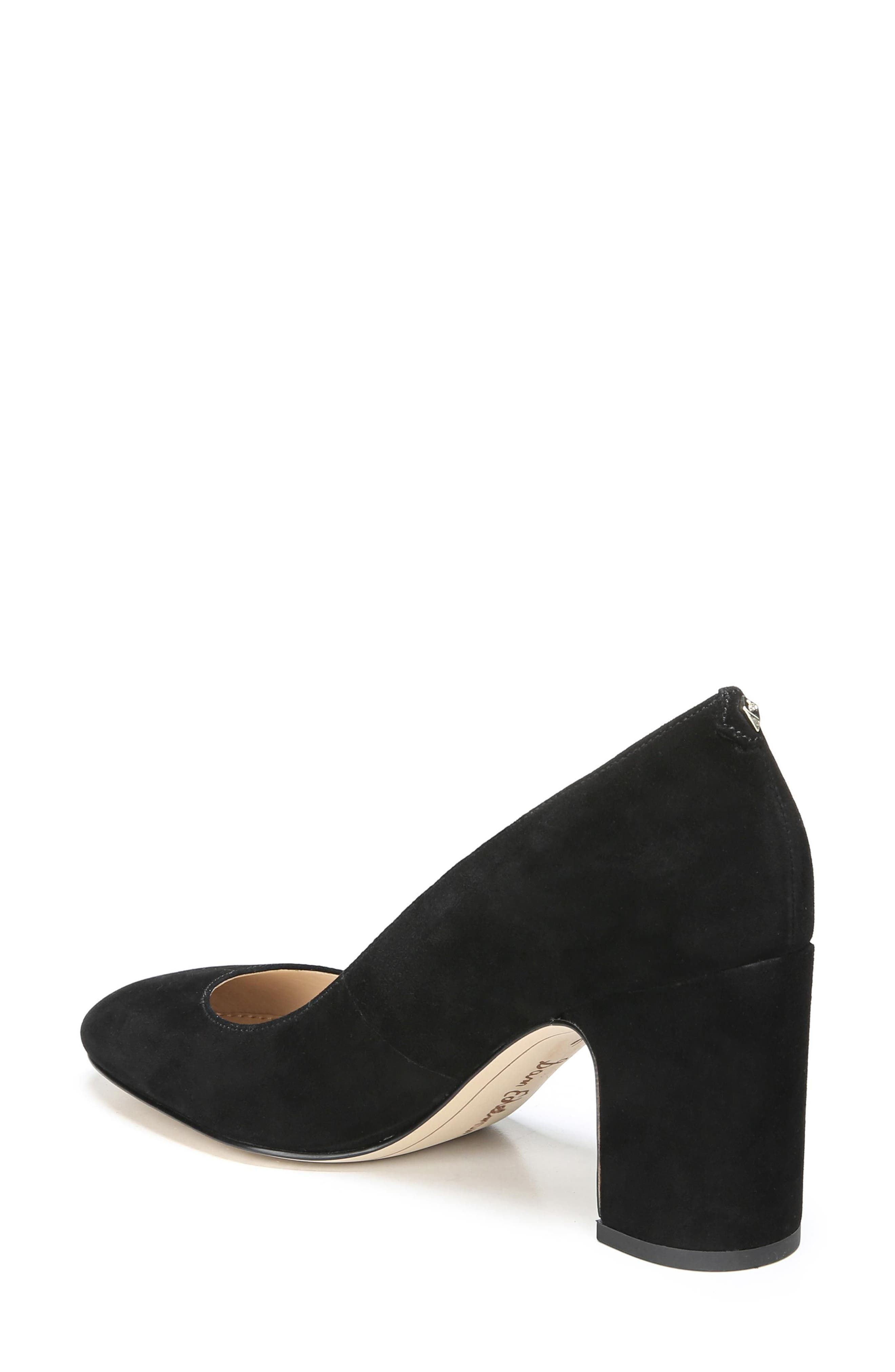 Junie Genuine Calf Hair Pump,                             Alternate thumbnail 2, color,                             001