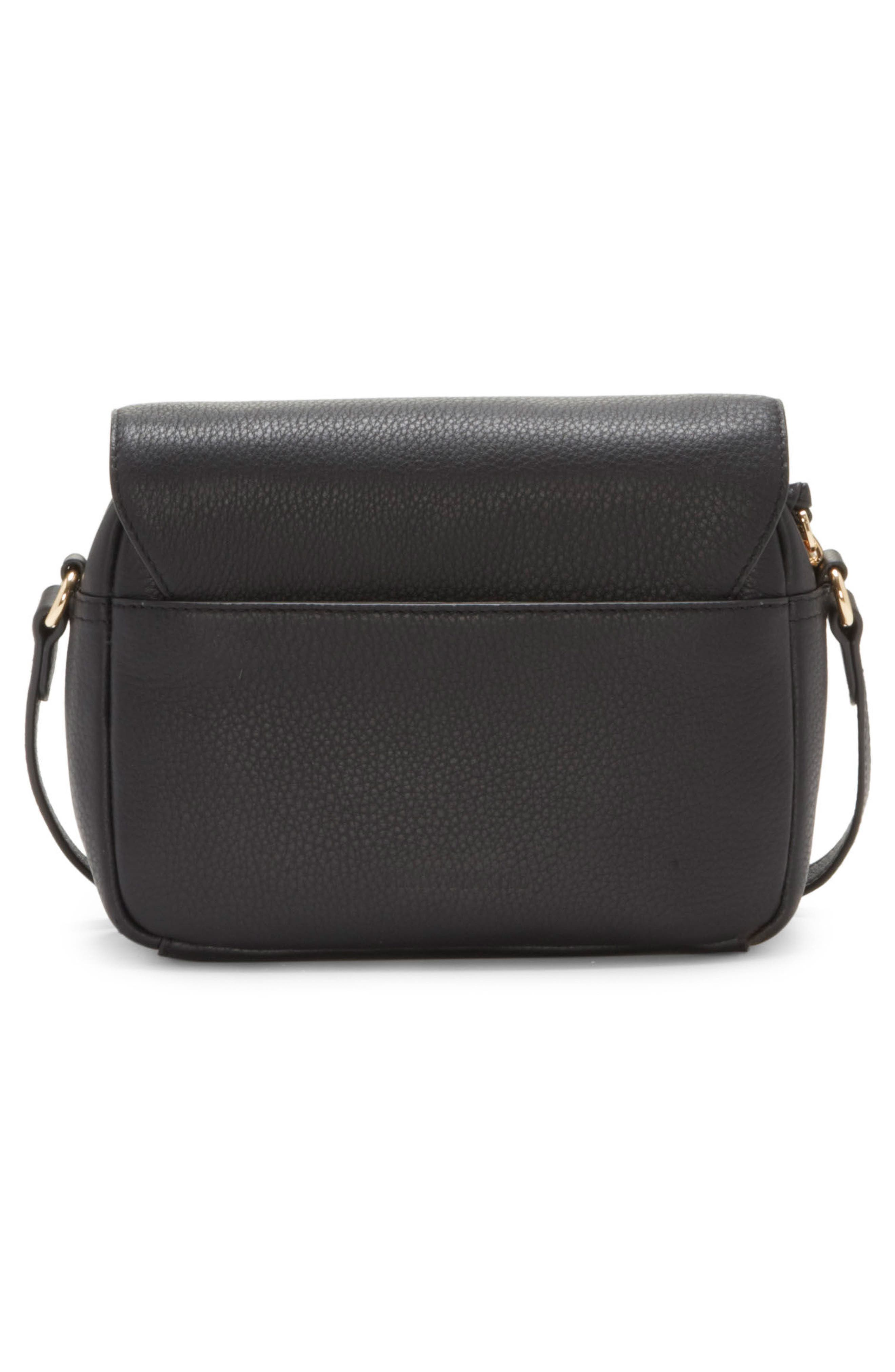 Stina Leather Crossbody Bag,                             Alternate thumbnail 2, color,                             001