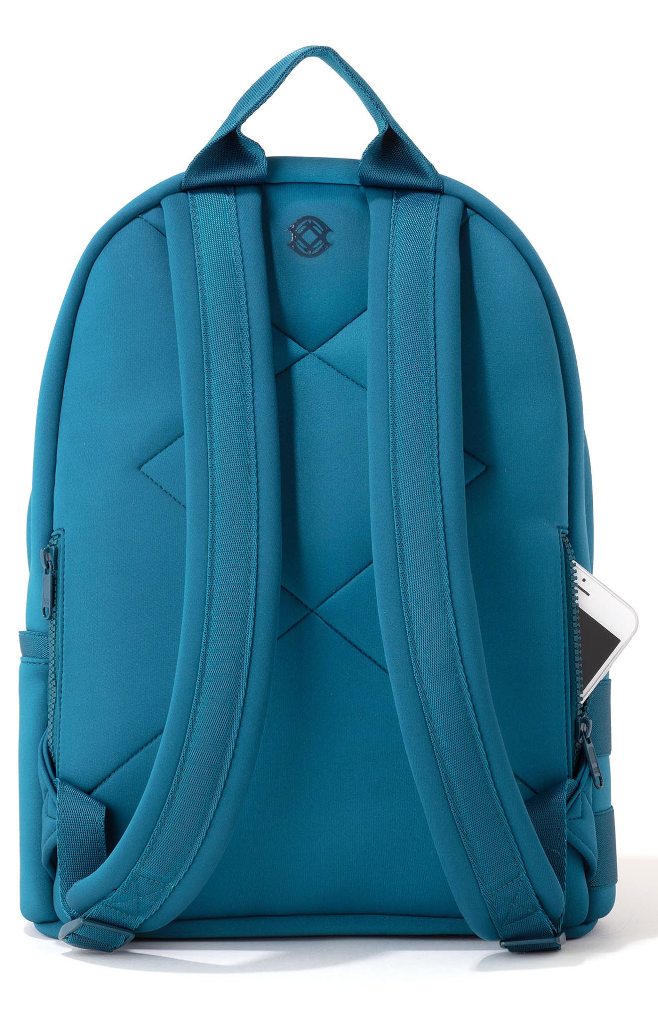 DAGNE DOVER,                             365 Dakota Neoprene Backpack,                             Alternate thumbnail 2, color,                             BAY BLUE