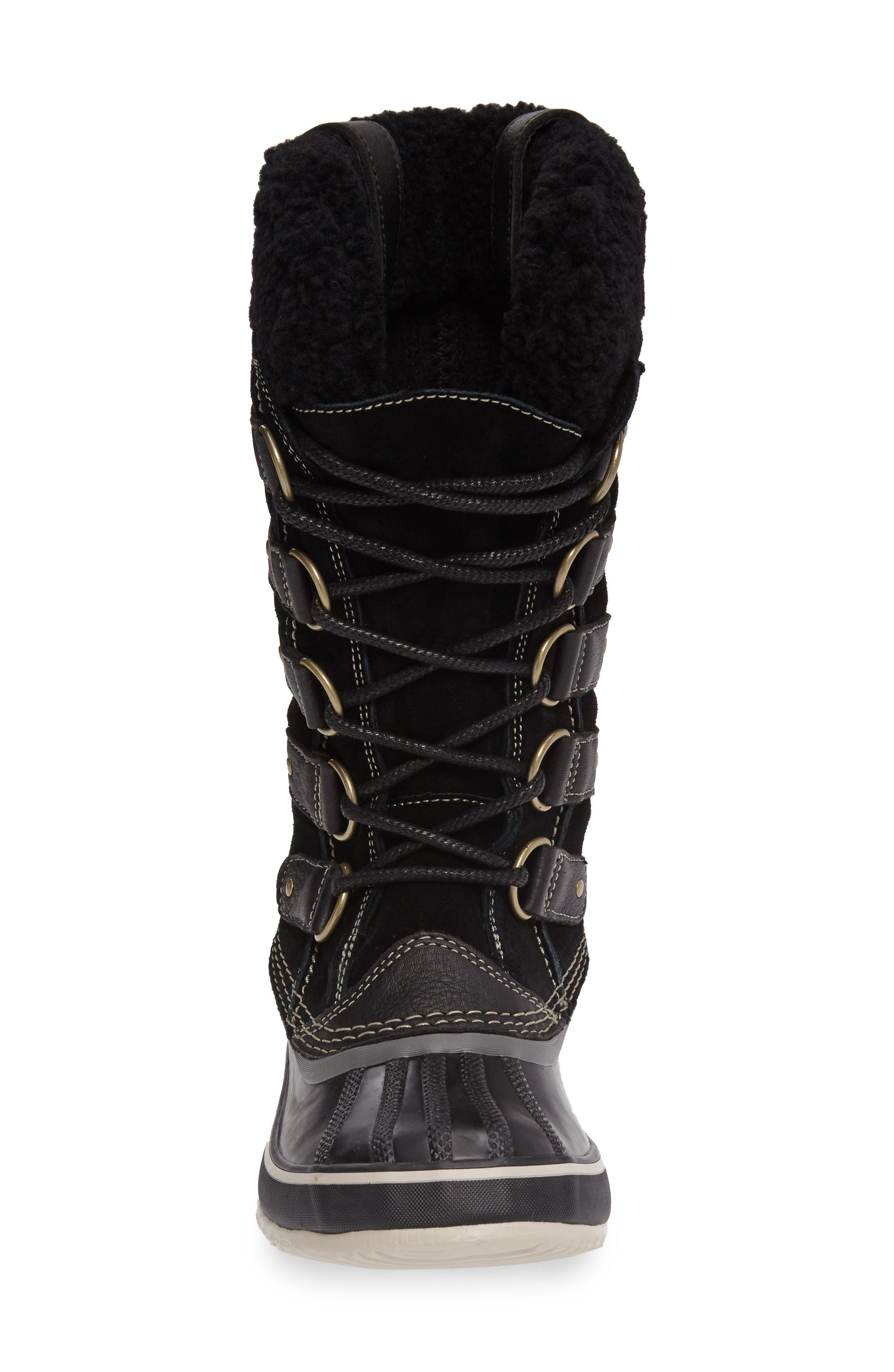 Joan of Arctic Genuine Shearling Waterproof Boot,                             Alternate thumbnail 11, color,