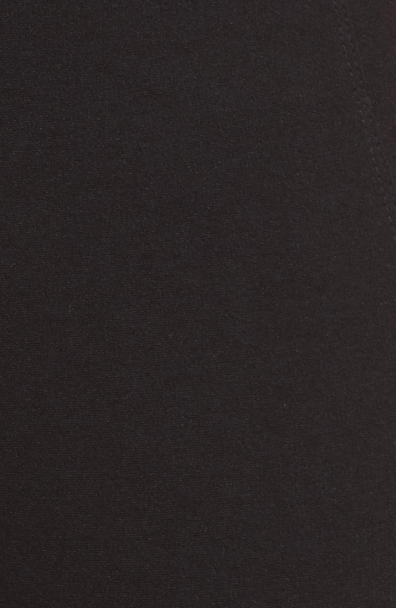 LIVERPOOL,                             Reese Pintuck Ponte Leggings,                             Alternate thumbnail 6, color,                             BLACK