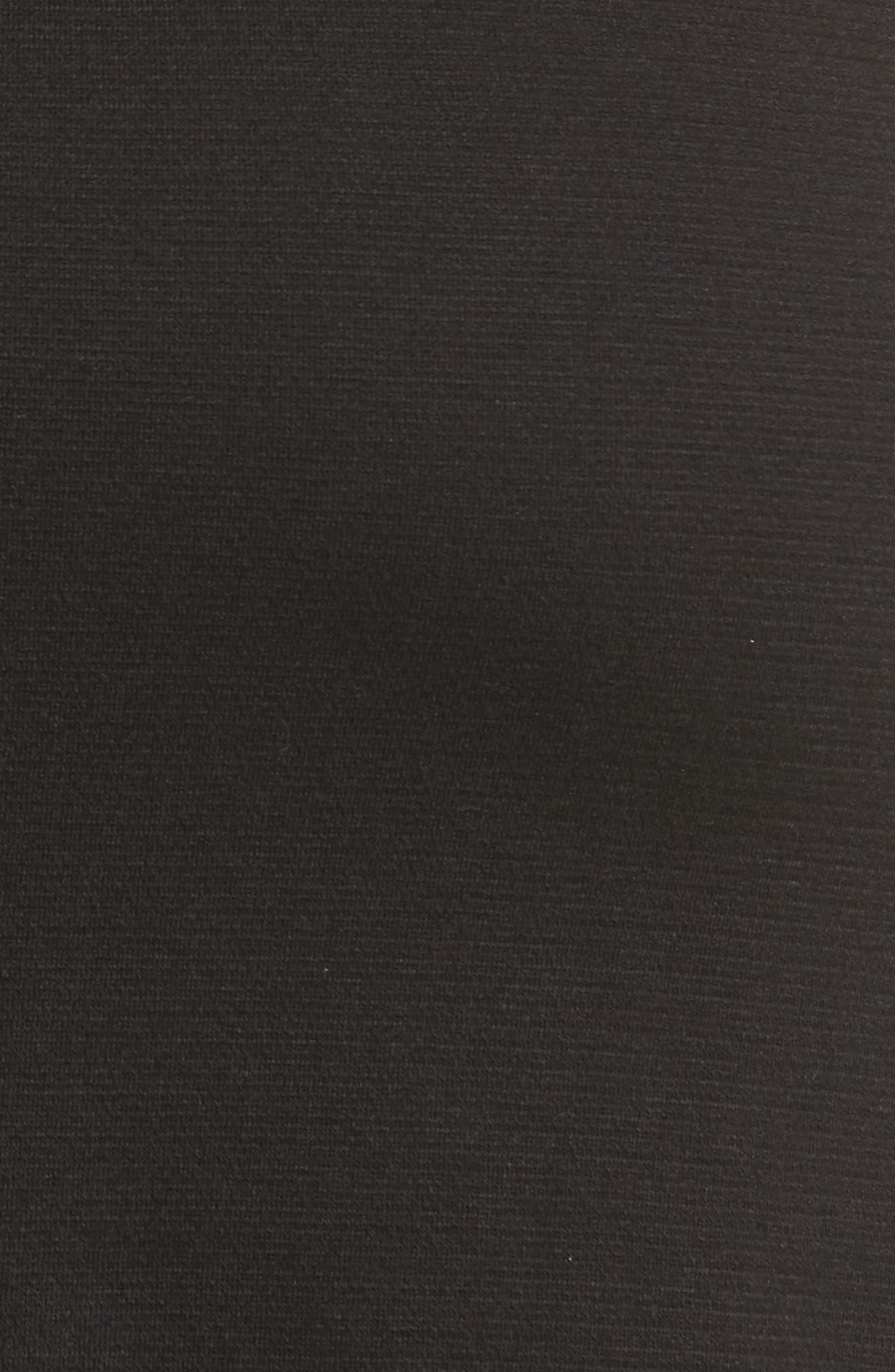 Ruffle High/Low Skirt,                             Alternate thumbnail 5, color,                             001