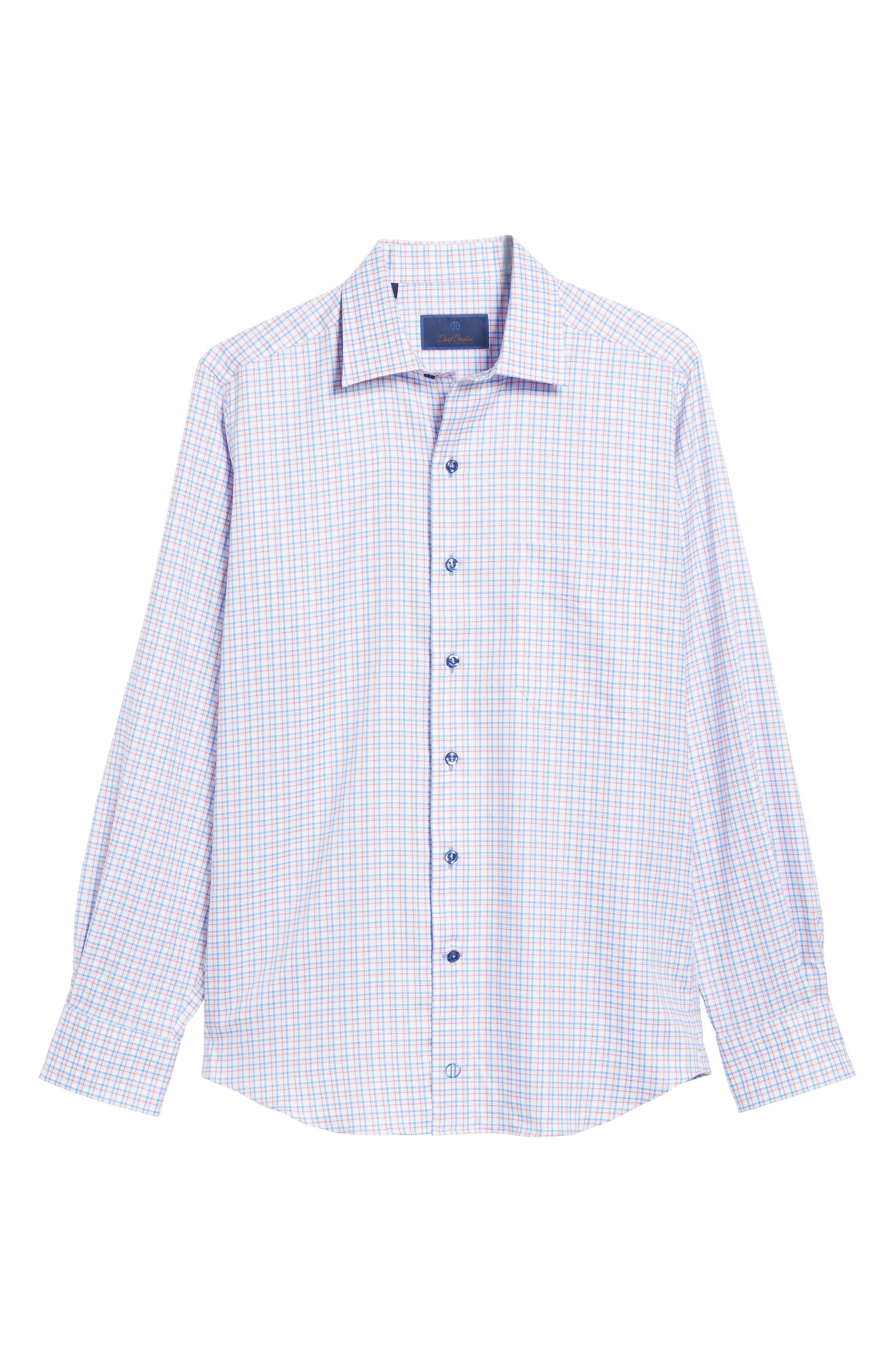 Regular Fit Check Sport Shirt,                             Alternate thumbnail 6, color,                             467