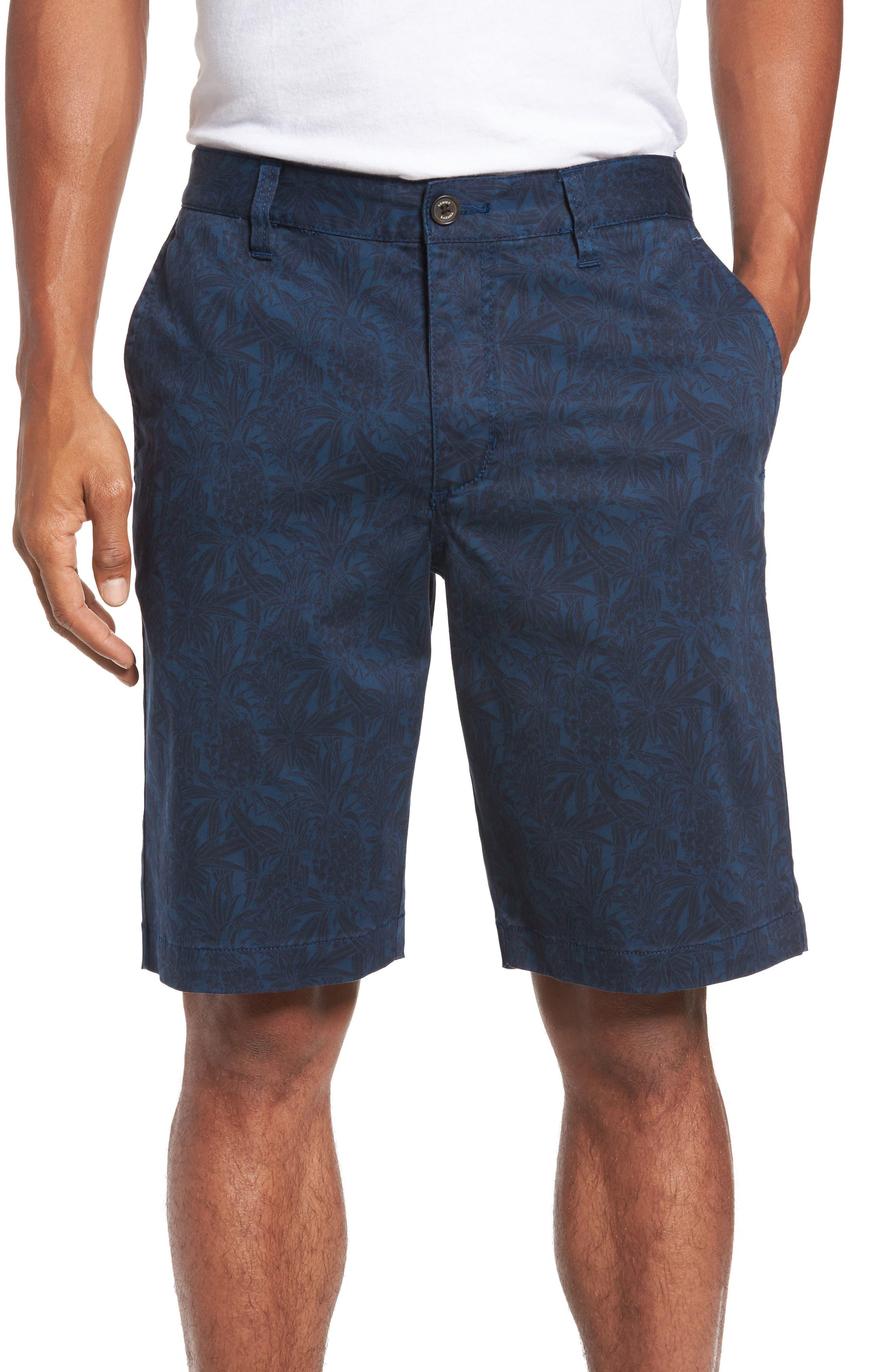 Camo Tropic Standard Fit Chino Shorts,                             Main thumbnail 2, color,