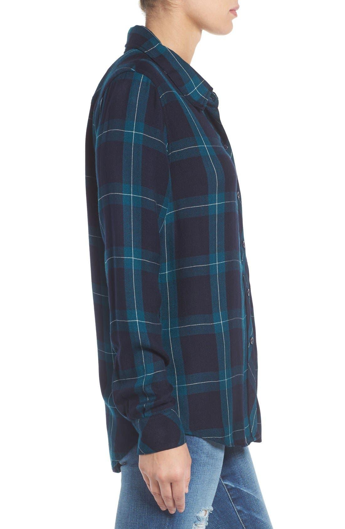 Hunter Plaid Shirt,                             Alternate thumbnail 368, color,
