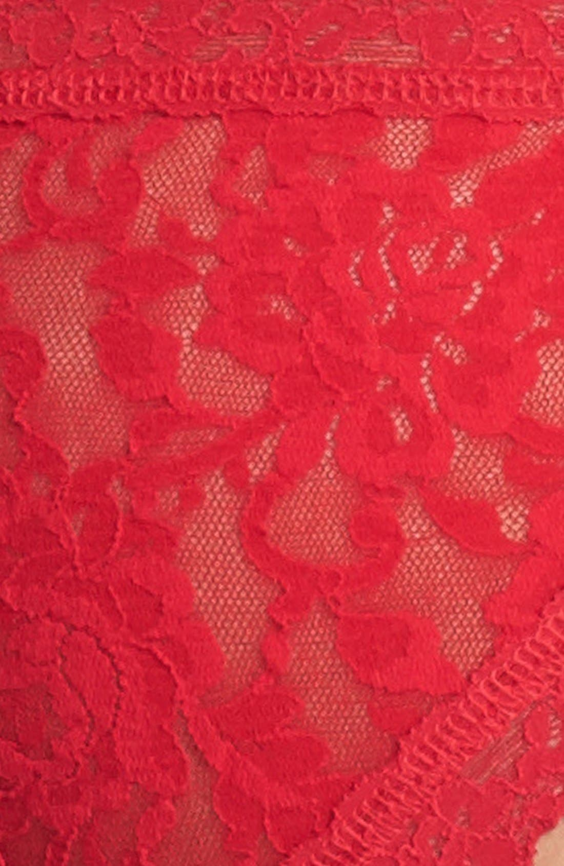 'Signature Lace' Brazilian Bikini,                             Alternate thumbnail 3, color,                             600