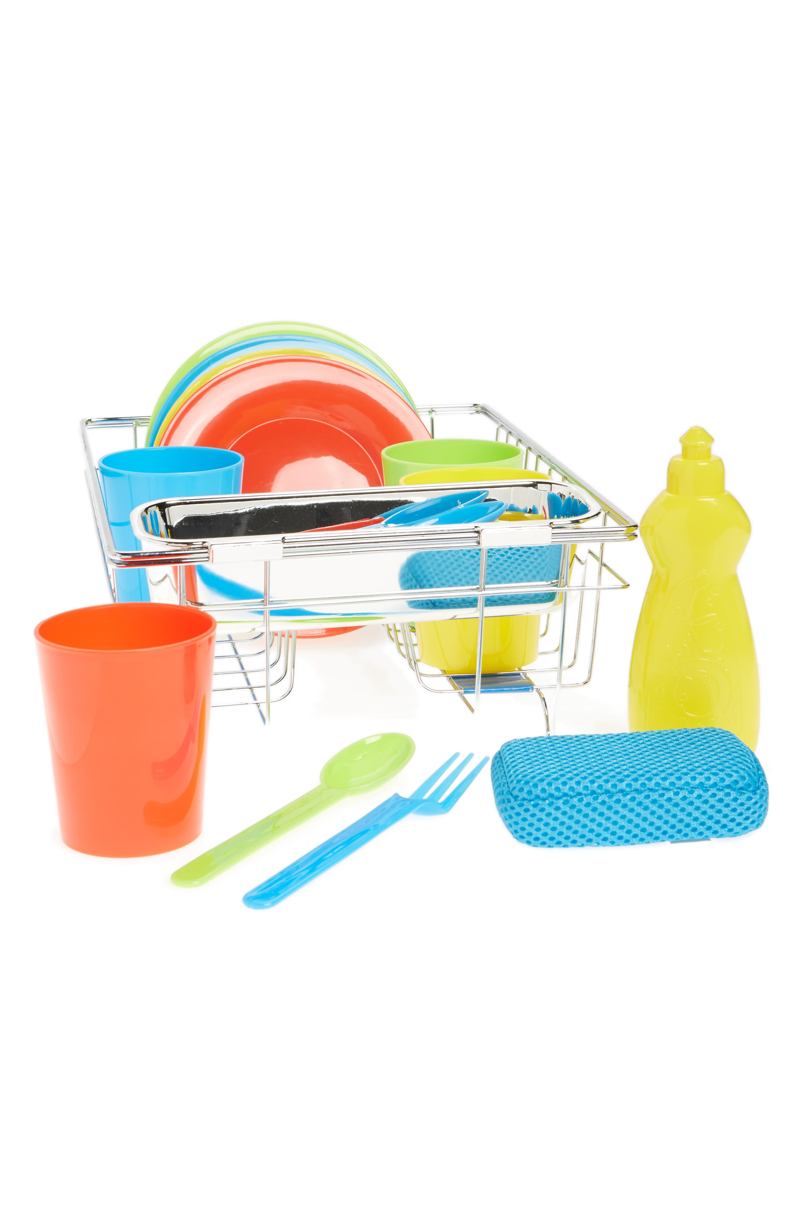 Wash & Dry Dish Set Toy,                         Main,                         color, 000