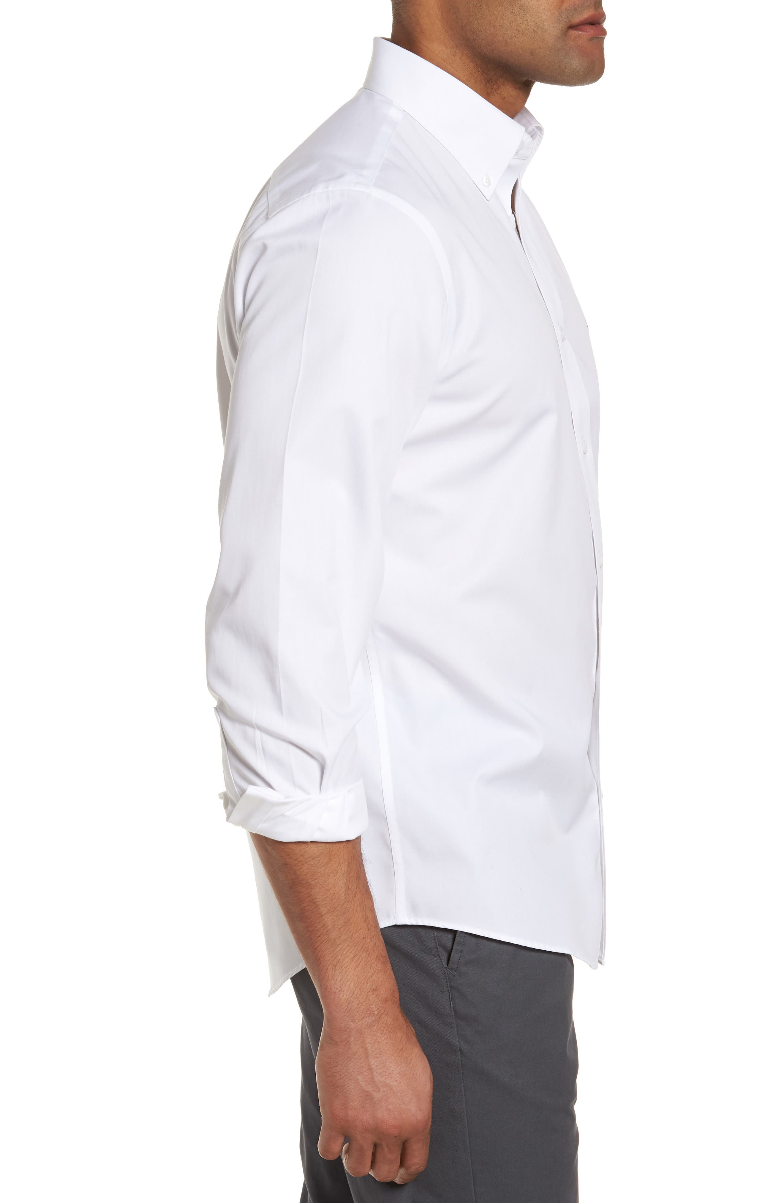 Smartcare<sup>™</sup> Traditional Fit Twill Boat Shirt,                             Alternate thumbnail 115, color,