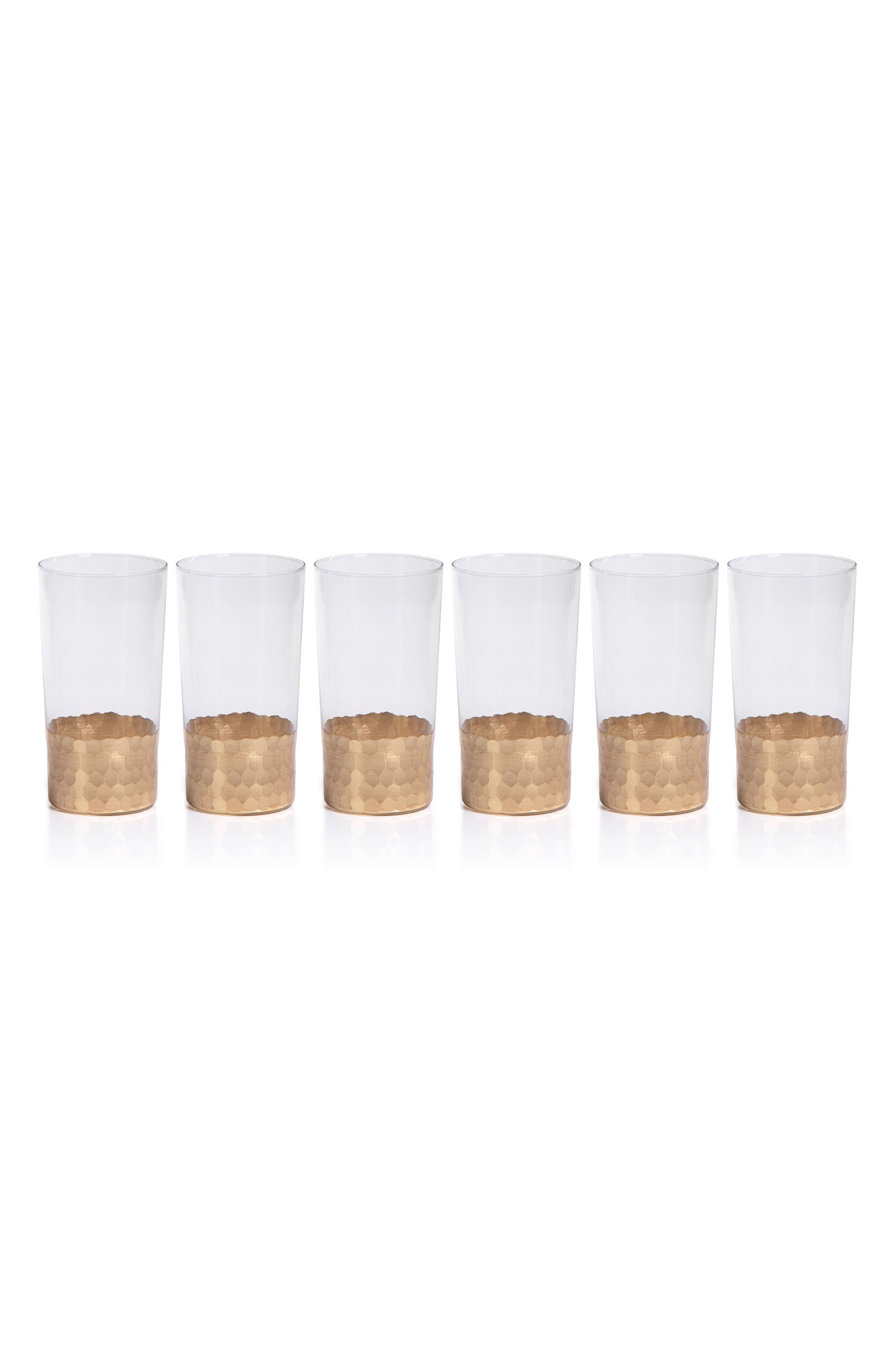 Vitorrio Set of 6 Highball Glasses,                             Main thumbnail 1, color,                             710