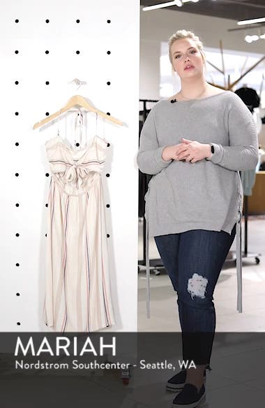 Tie Front Midi Dress, sales video thumbnail