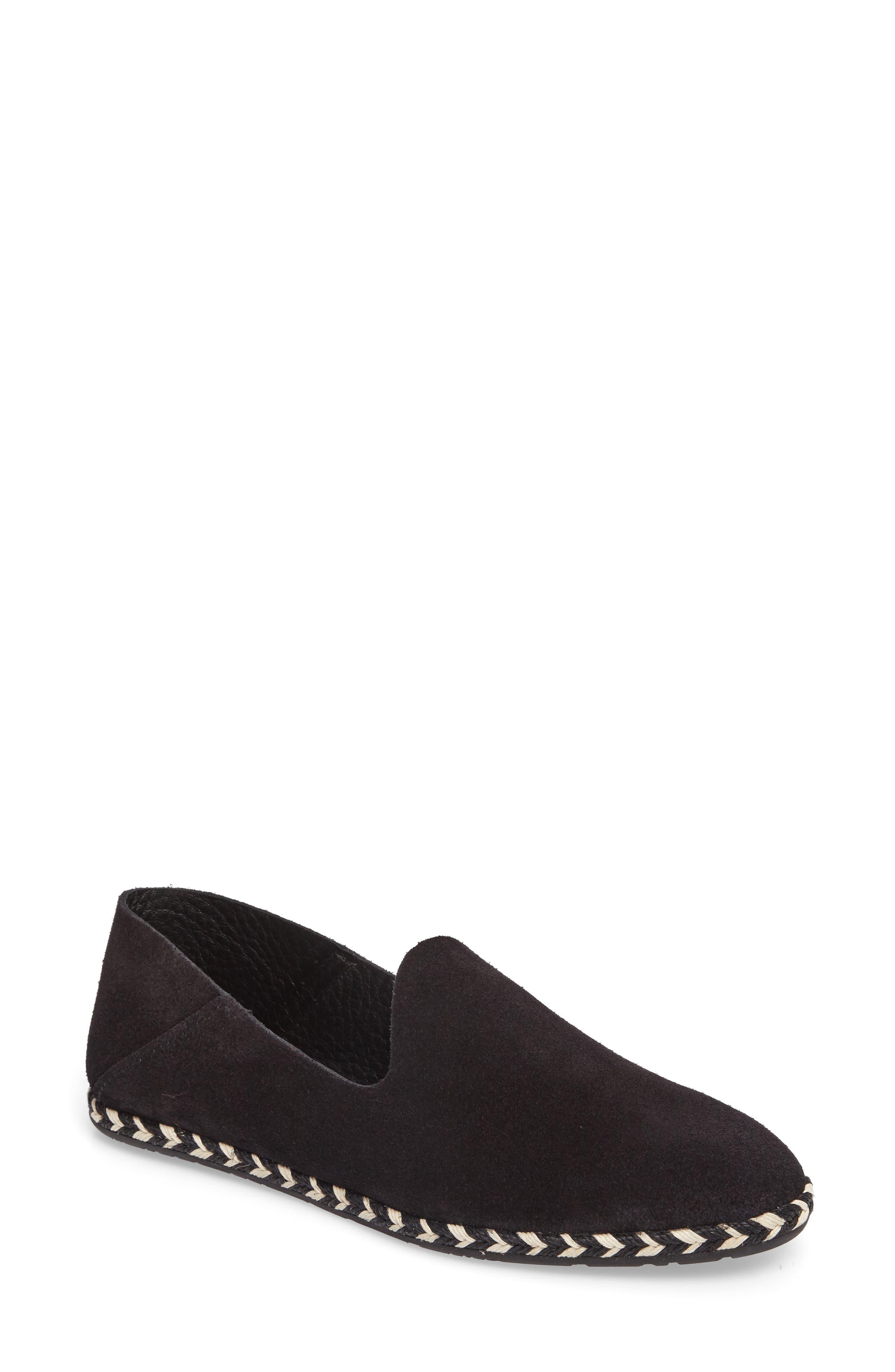 Yuli Convertible Woven Loafer,                         Main,                         color, BLACK