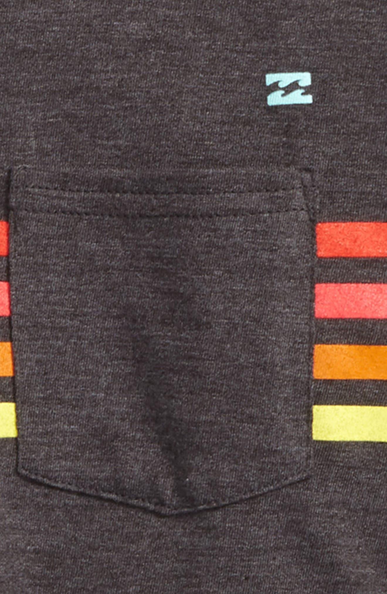 Team Stripe T-Shirt,                             Alternate thumbnail 3, color,