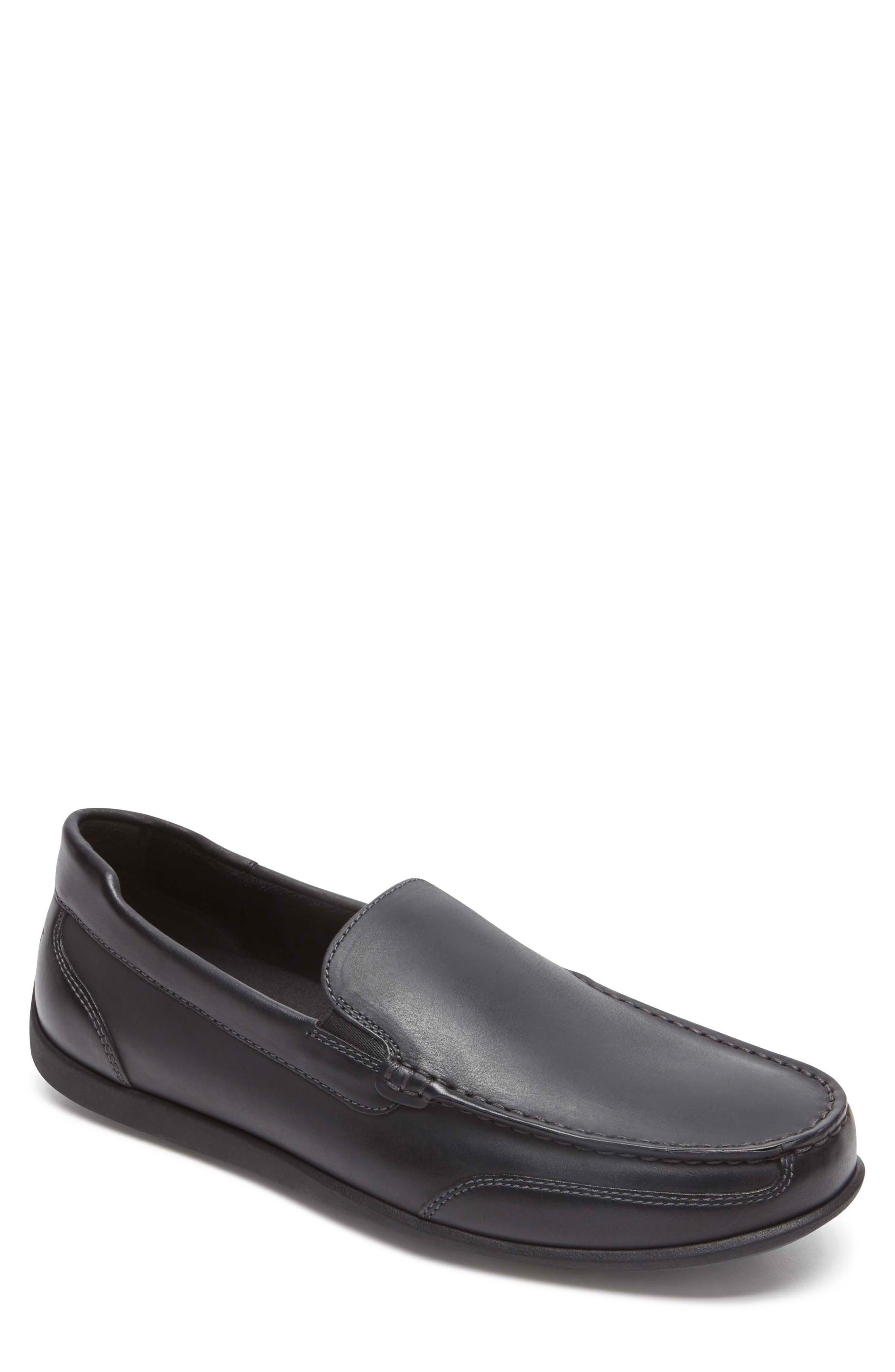 Bennett Lane Slip-On,                         Main,                         color, BLACK LEATHER