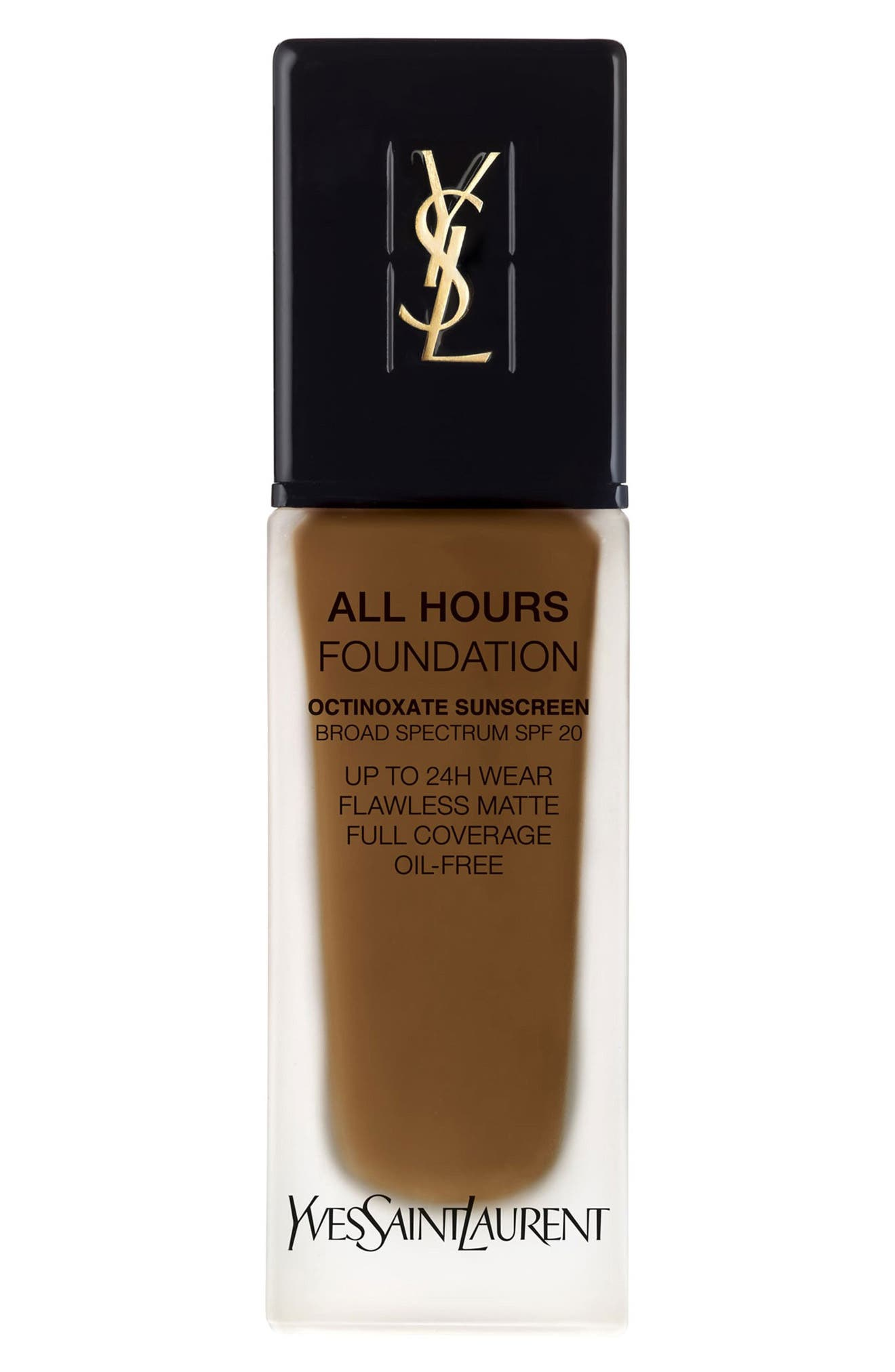 Yves Saint Laurent All Hours Full Coverage Matte Foundation Spf 20 - B85 Coffee