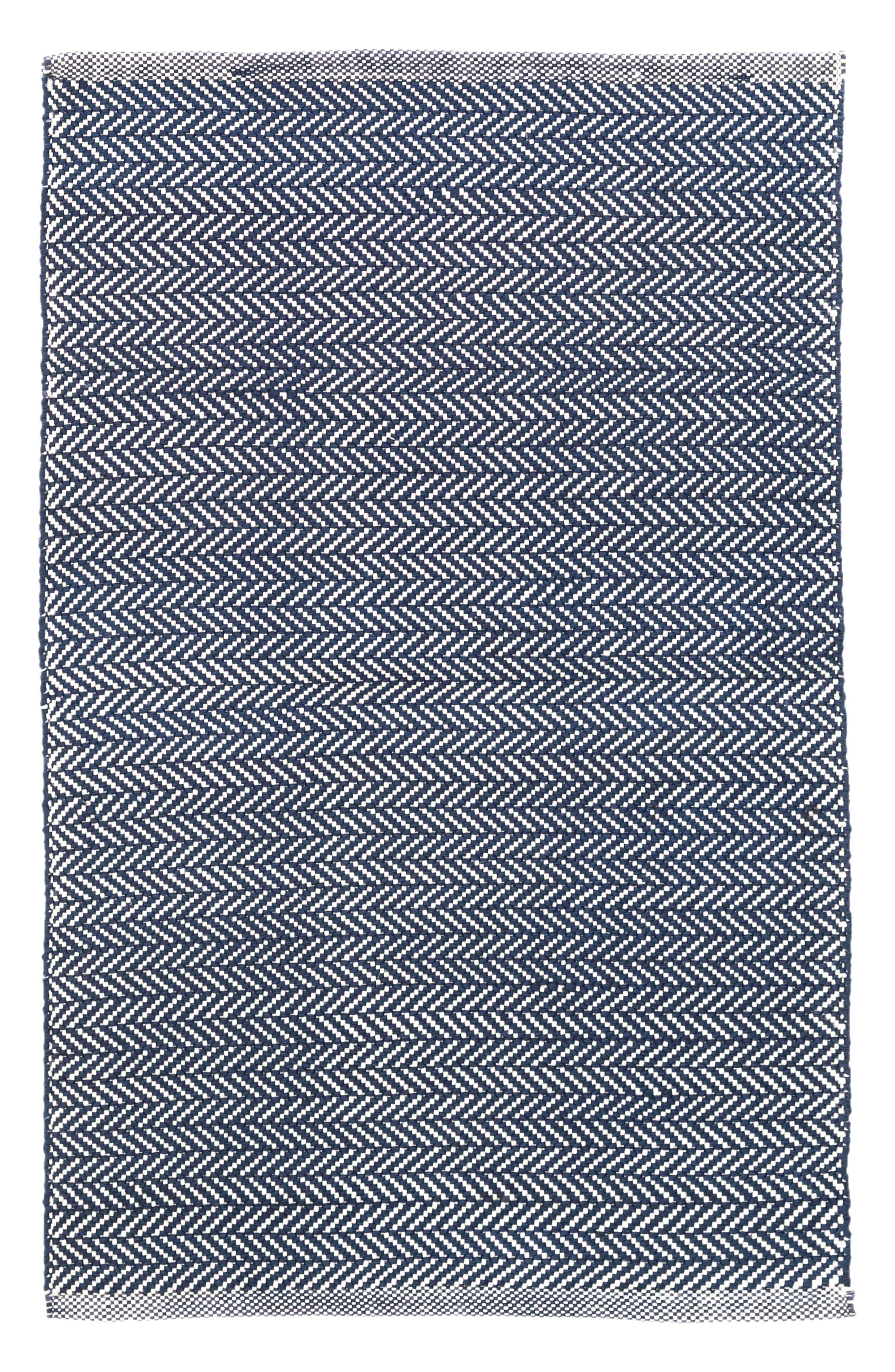 Herringbone Rug,                         Main,                         color, 460