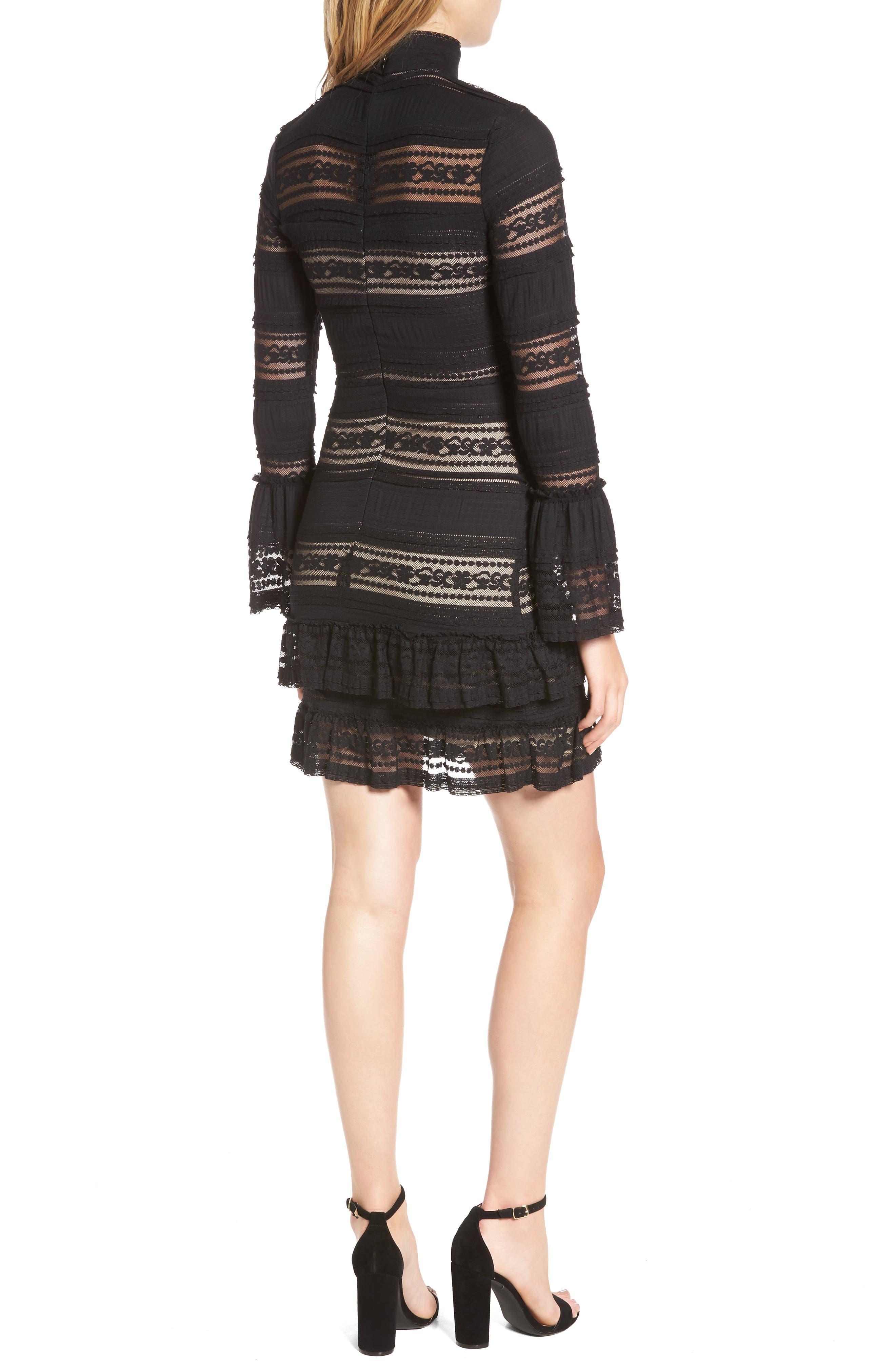 Topanga Lace Sheath Dress,                             Alternate thumbnail 2, color,