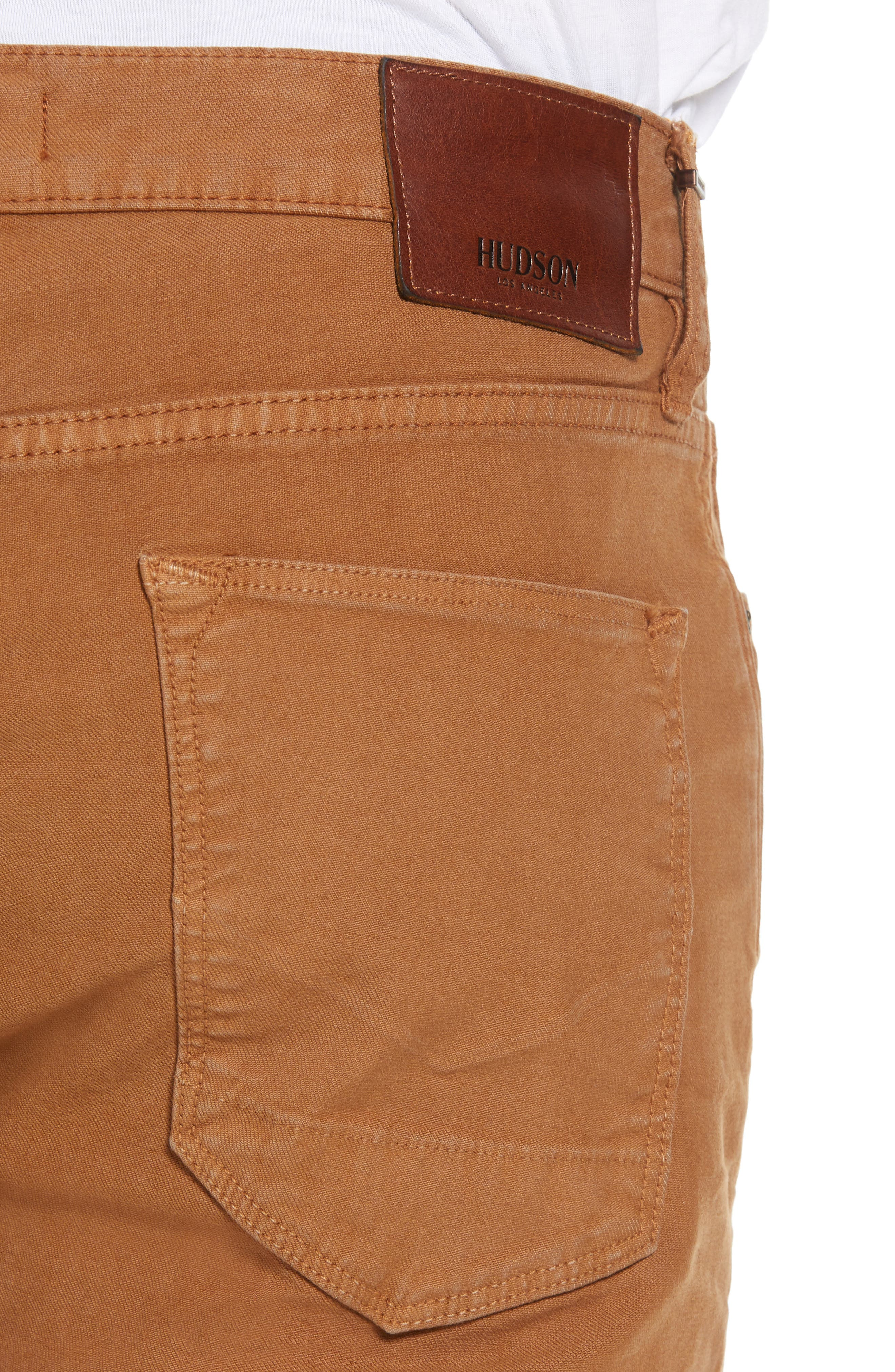 Axl Skinny Fit Jeans,                             Alternate thumbnail 4, color,                             SIENNA