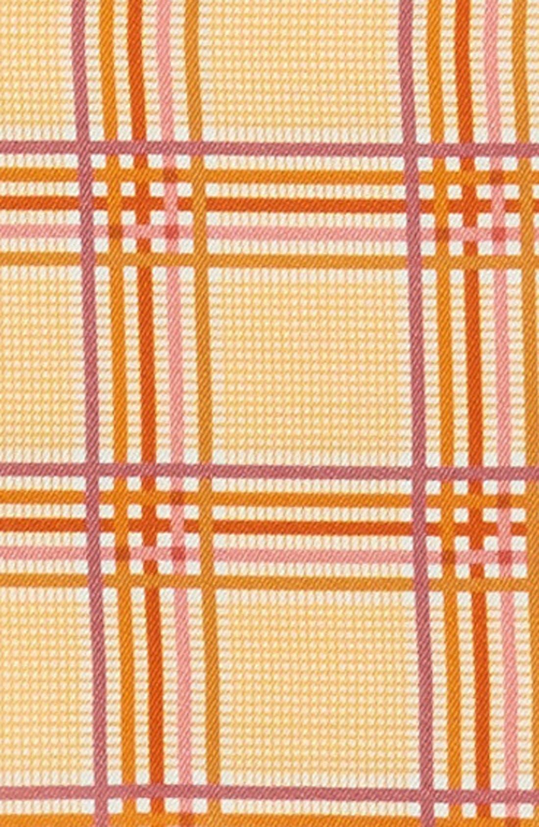 Plaid Silk Pocket Square,                             Alternate thumbnail 9, color,