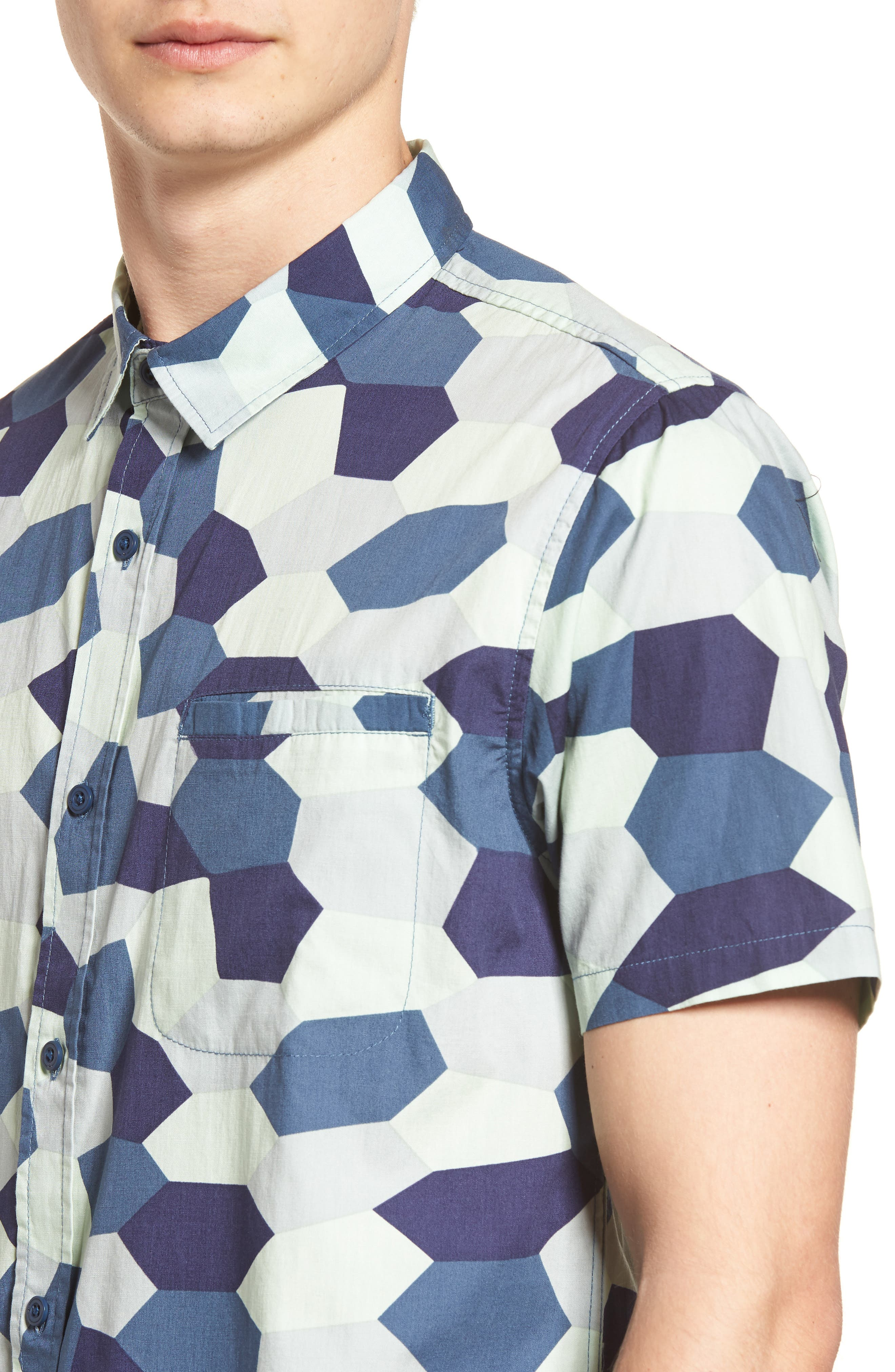 Porter Woven Shirt,                             Alternate thumbnail 22, color,