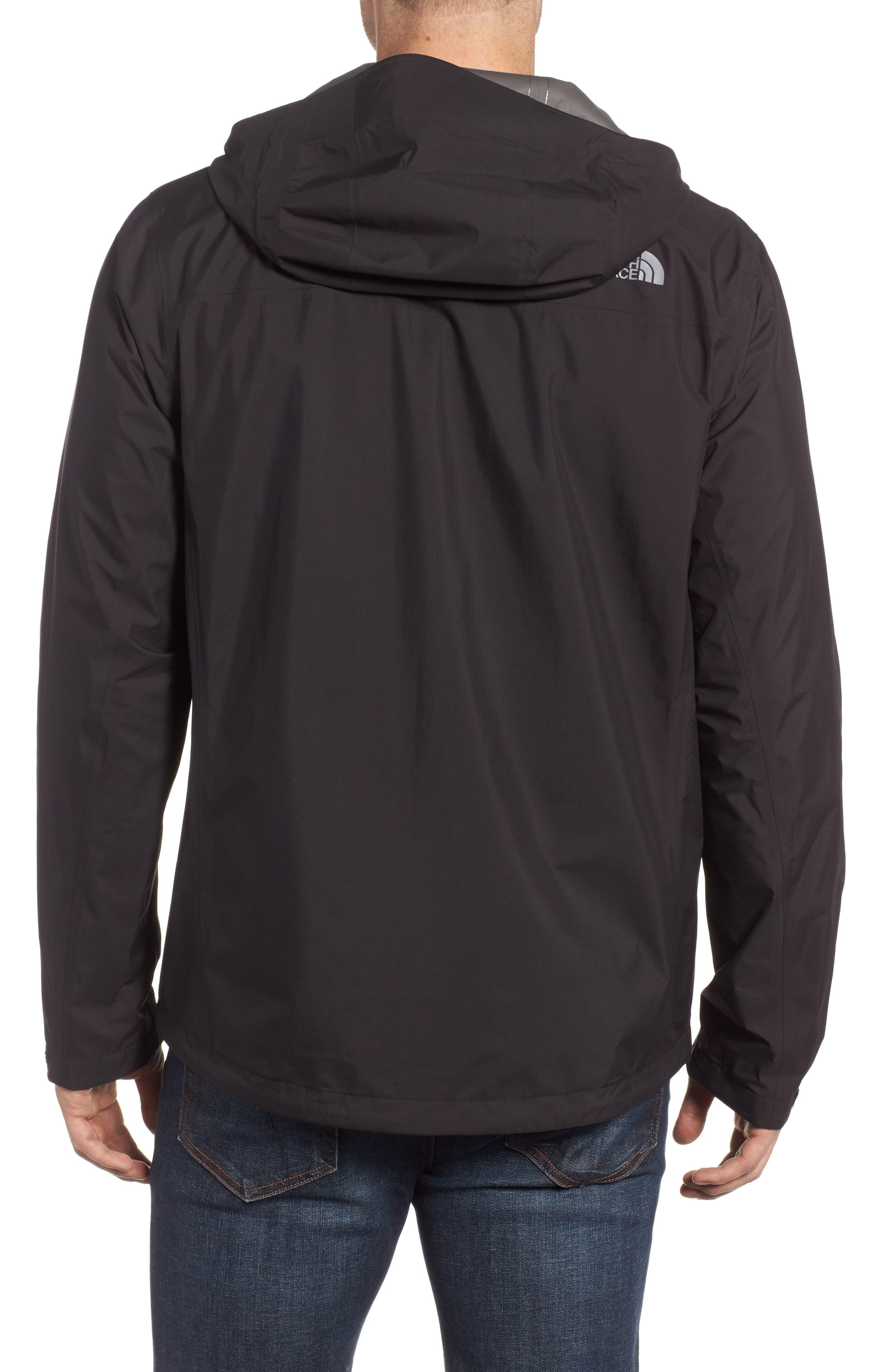 Dryzzle Gore-Tex<sup>®</sup> PacLite Hooded Jacket,                             Alternate thumbnail 2, color,                             001