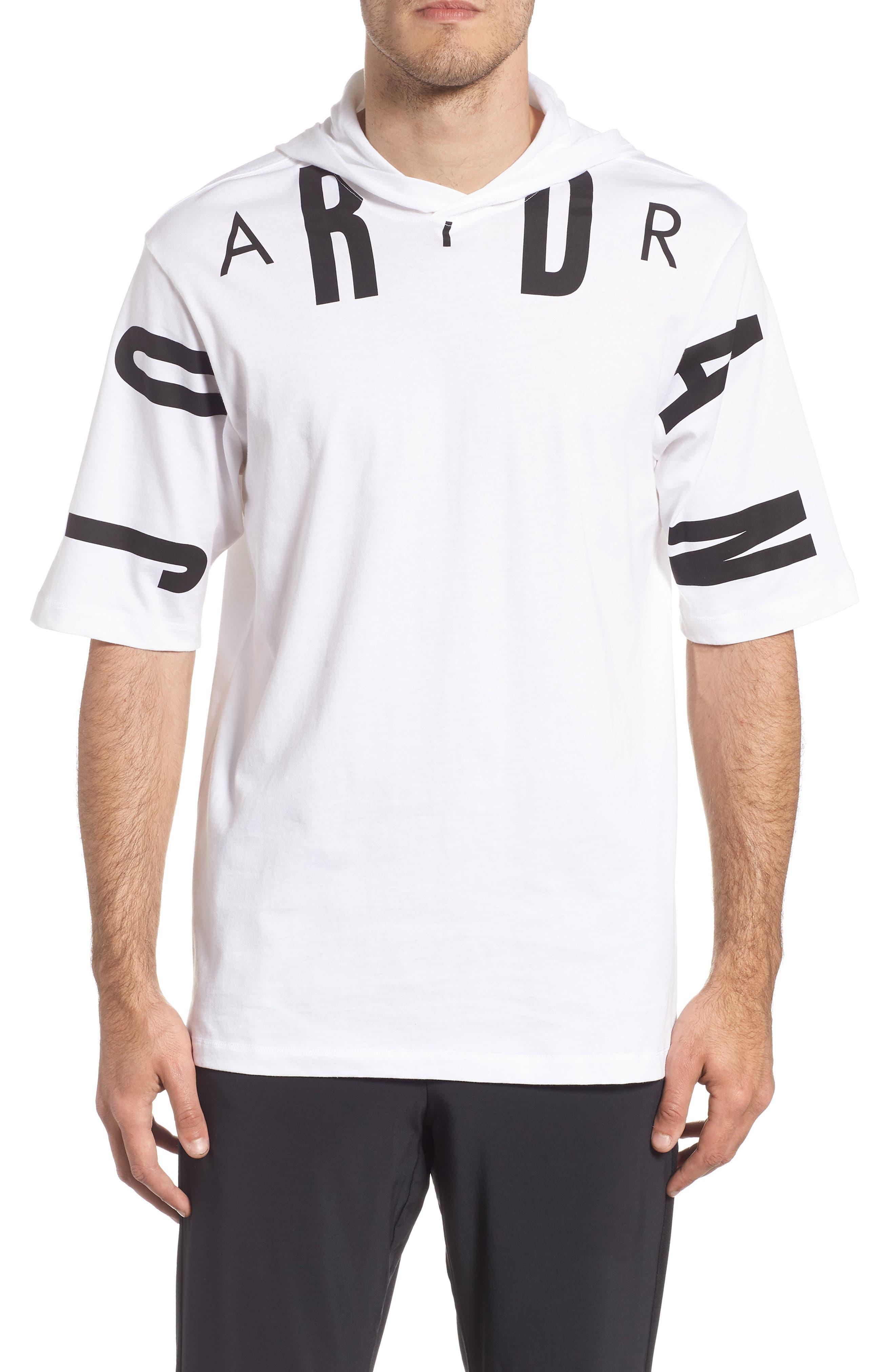 Jordan 23 Hooded T-Shirt, White