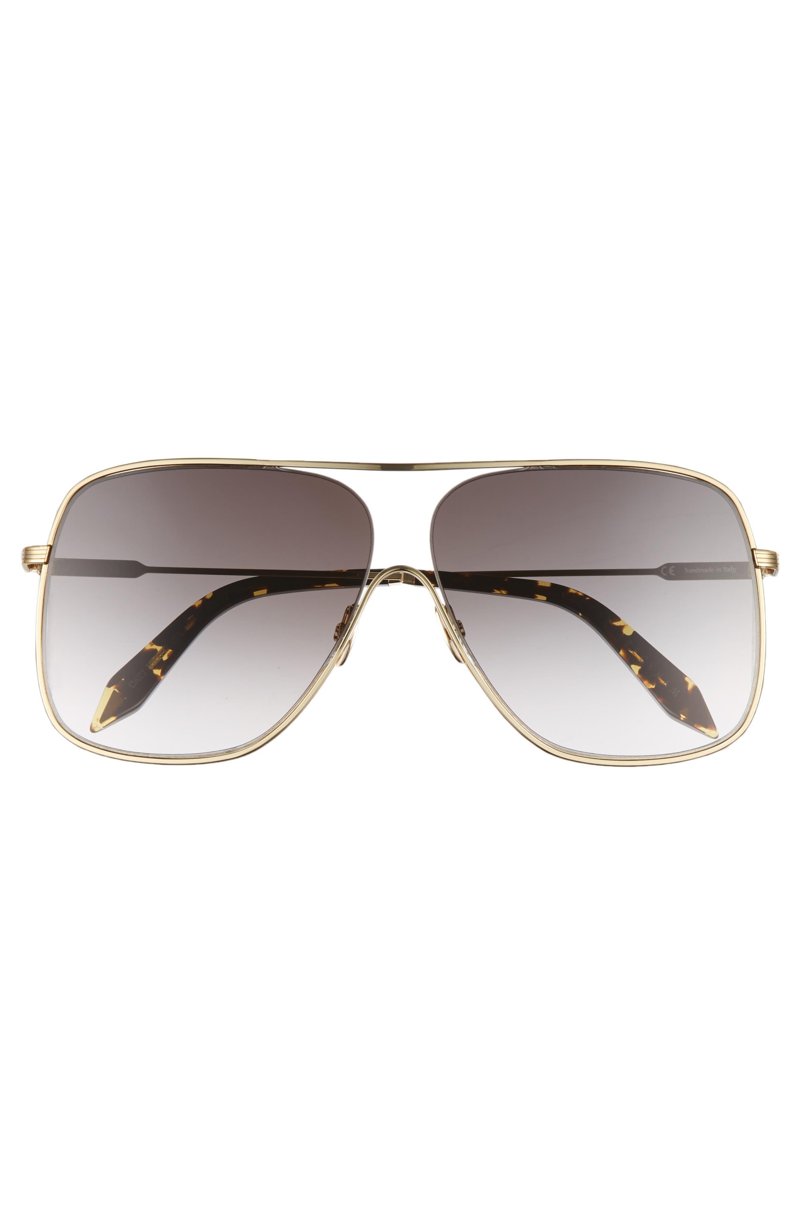 Loop 61mm Navigator Sunglasses,                             Alternate thumbnail 3, color,                             GALAXY