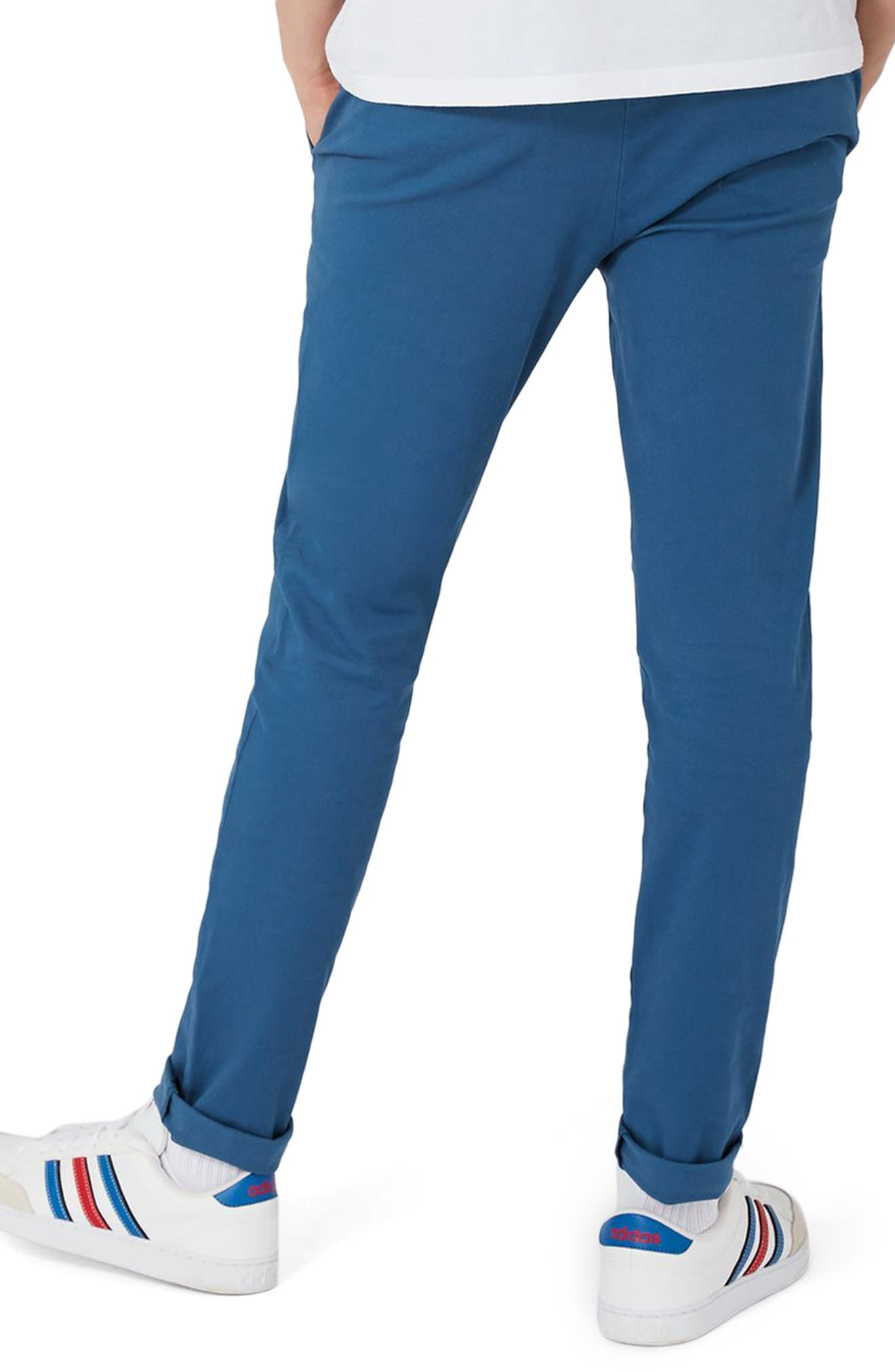 Skinny Fit Chinos,                             Alternate thumbnail 4, color,